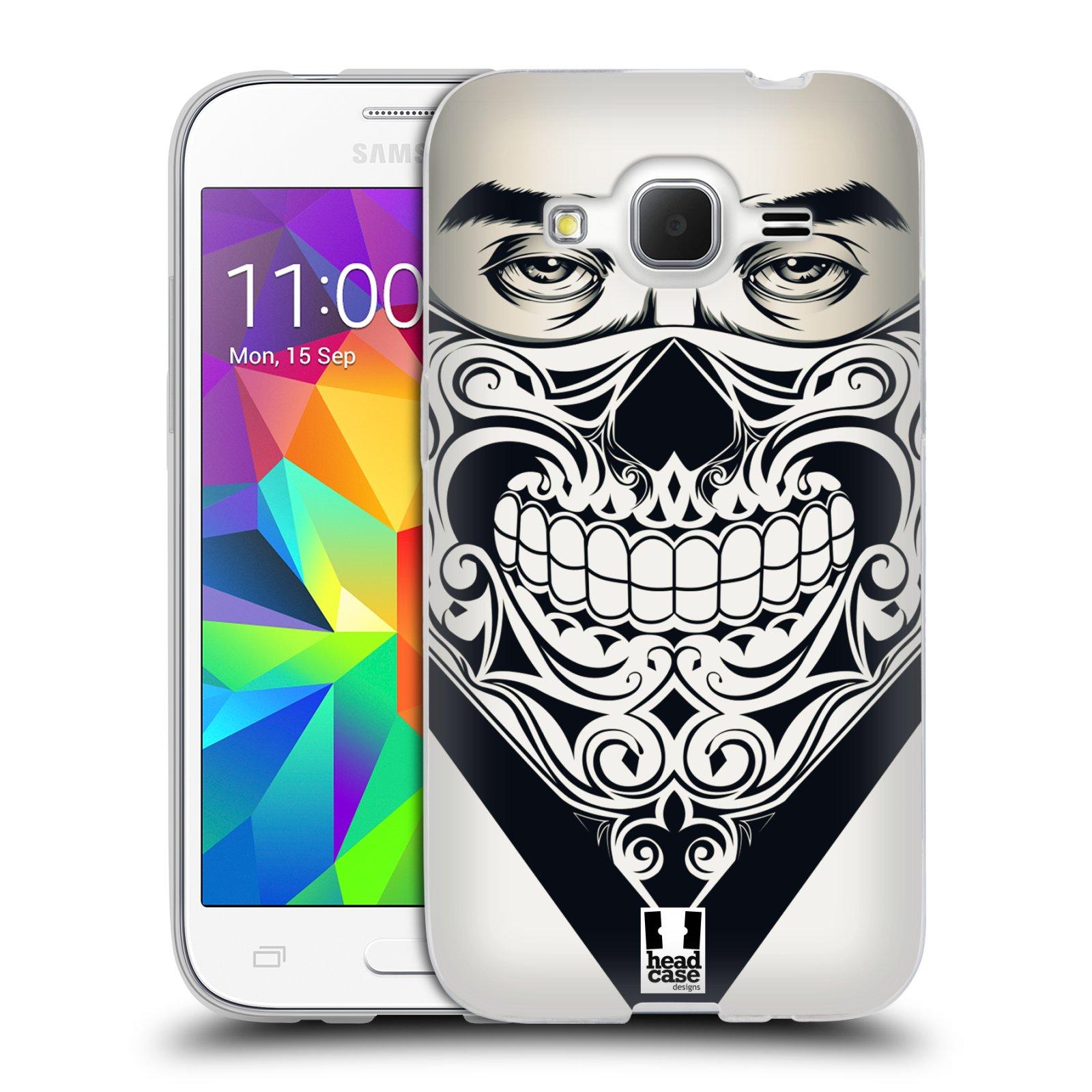 Silikonové pouzdro na mobil Samsung Galaxy Core Prime LTE HEAD CASE LEBKA BANDANA