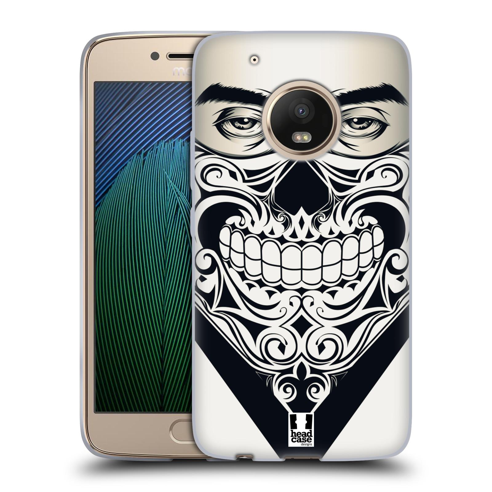 Silikonové pouzdro na mobil Lenovo Moto G5 Plus - Head Case LEBKA BANDANA
