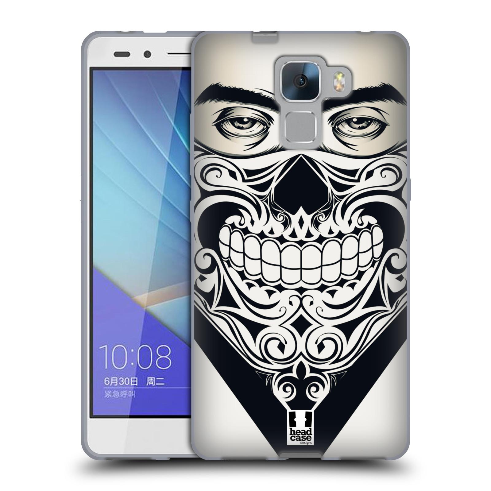 Silikonové pouzdro na mobil Honor 7 HEAD CASE LEBKA BANDANA