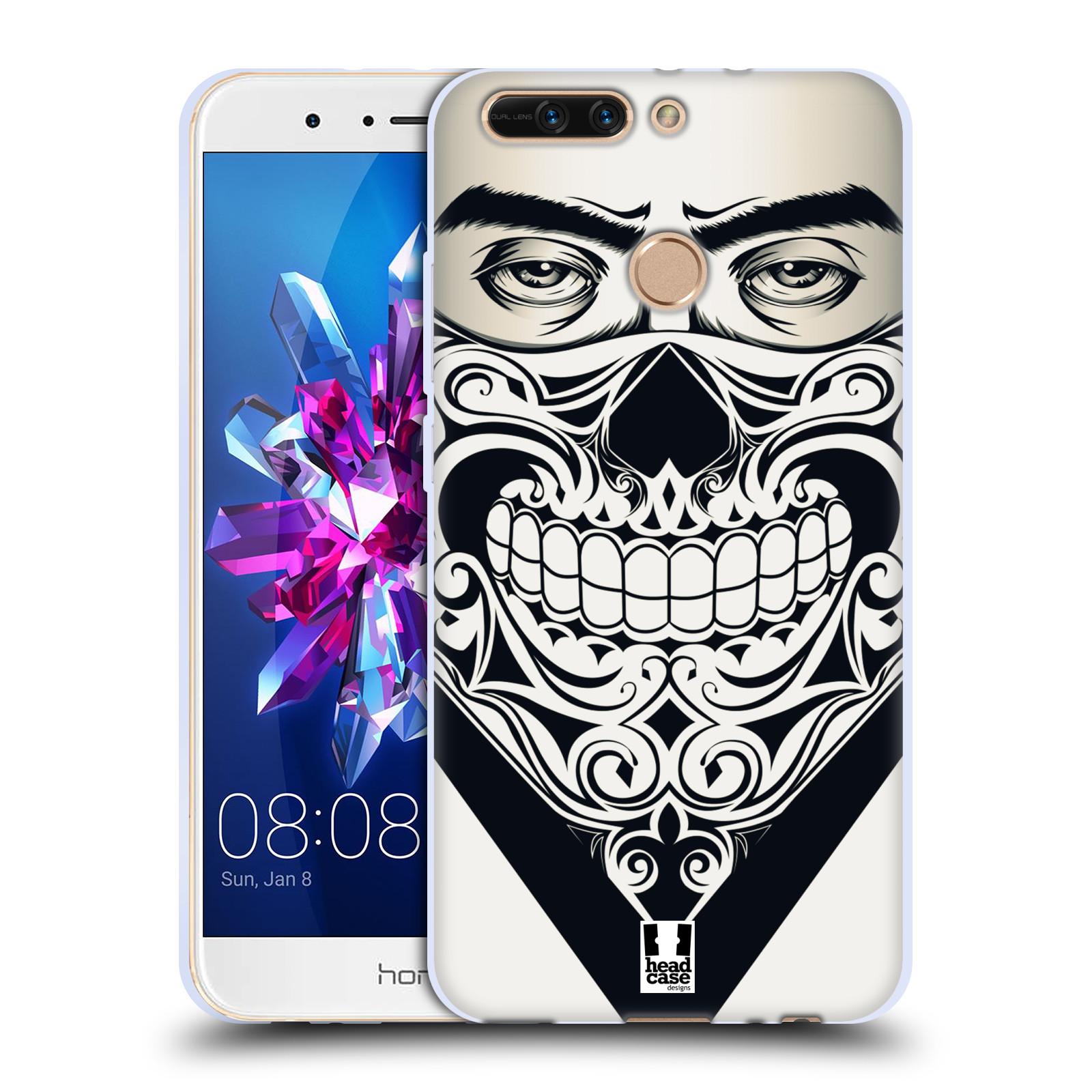 Silikonové pouzdro na mobil Honor 8 Pro - Head Case - LEBKA BANDANA