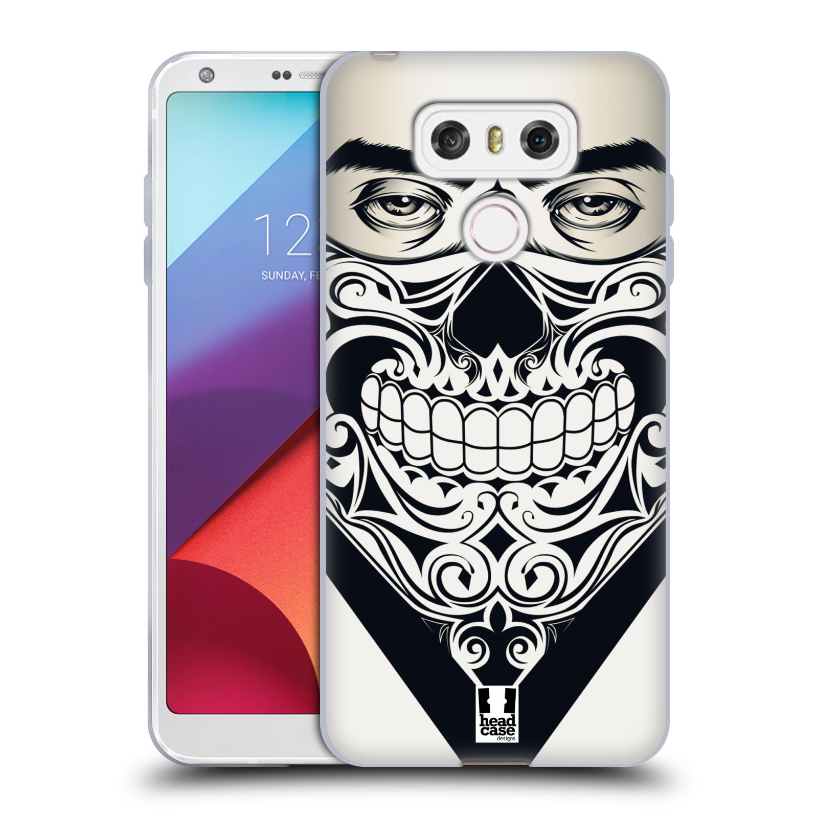 Silikonové pouzdro na mobil LG G6 - Head Case LEBKA BANDANA