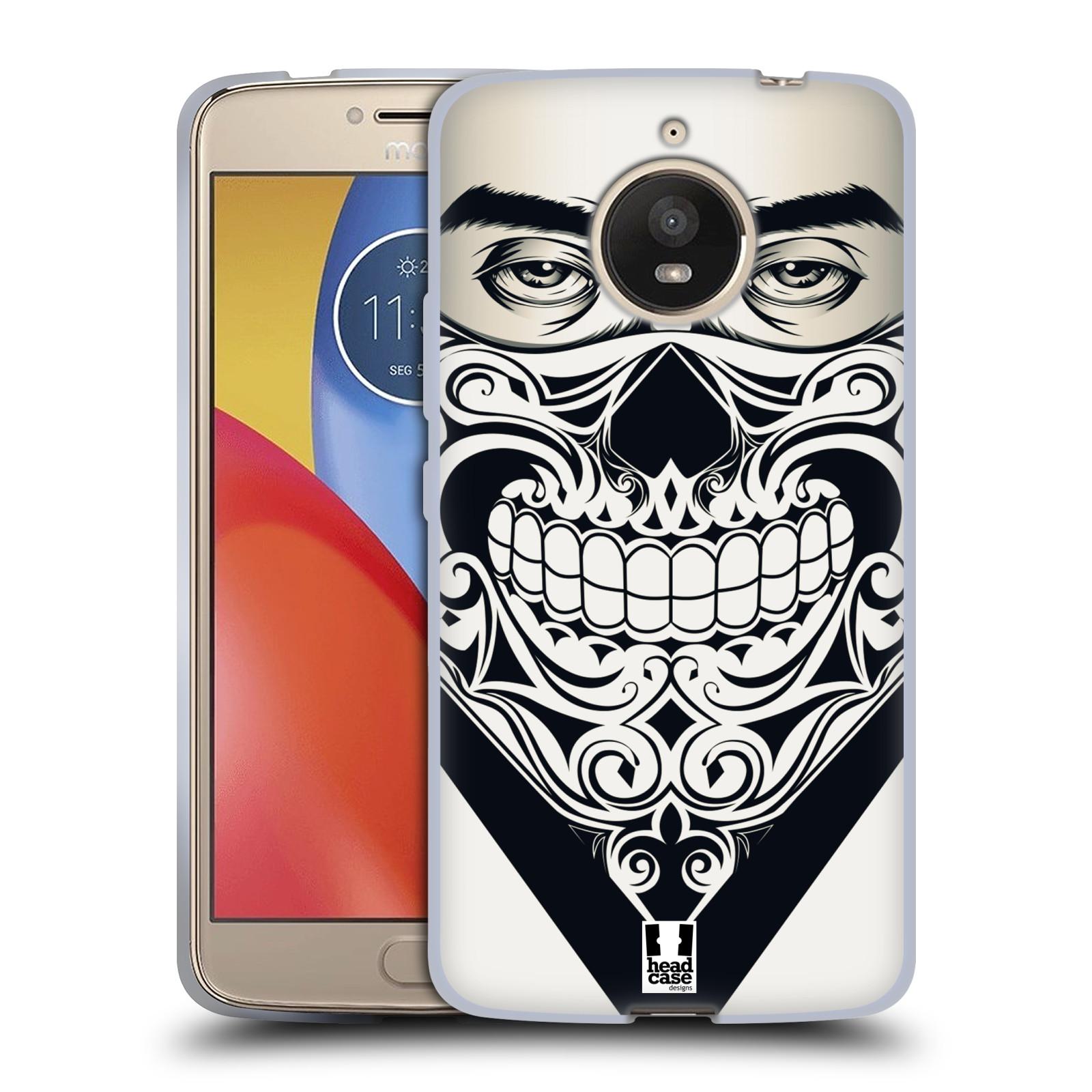 Silikonové pouzdro na mobil Lenovo Moto E4 Plus - Head Case - LEBKA BANDANA