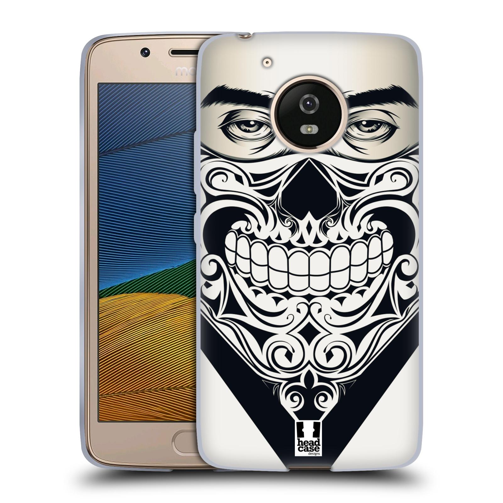 Silikonové pouzdro na mobil Lenovo Moto G5 - Head Case LEBKA BANDANA