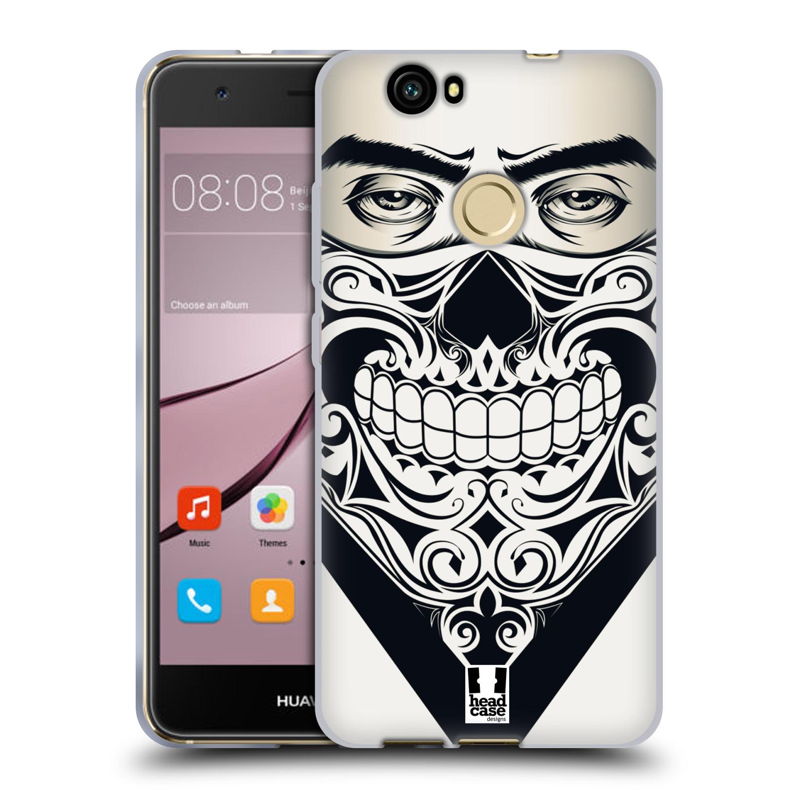 Silikonové pouzdro na mobil Huawei Nova - Head Case - LEBKA BANDANA