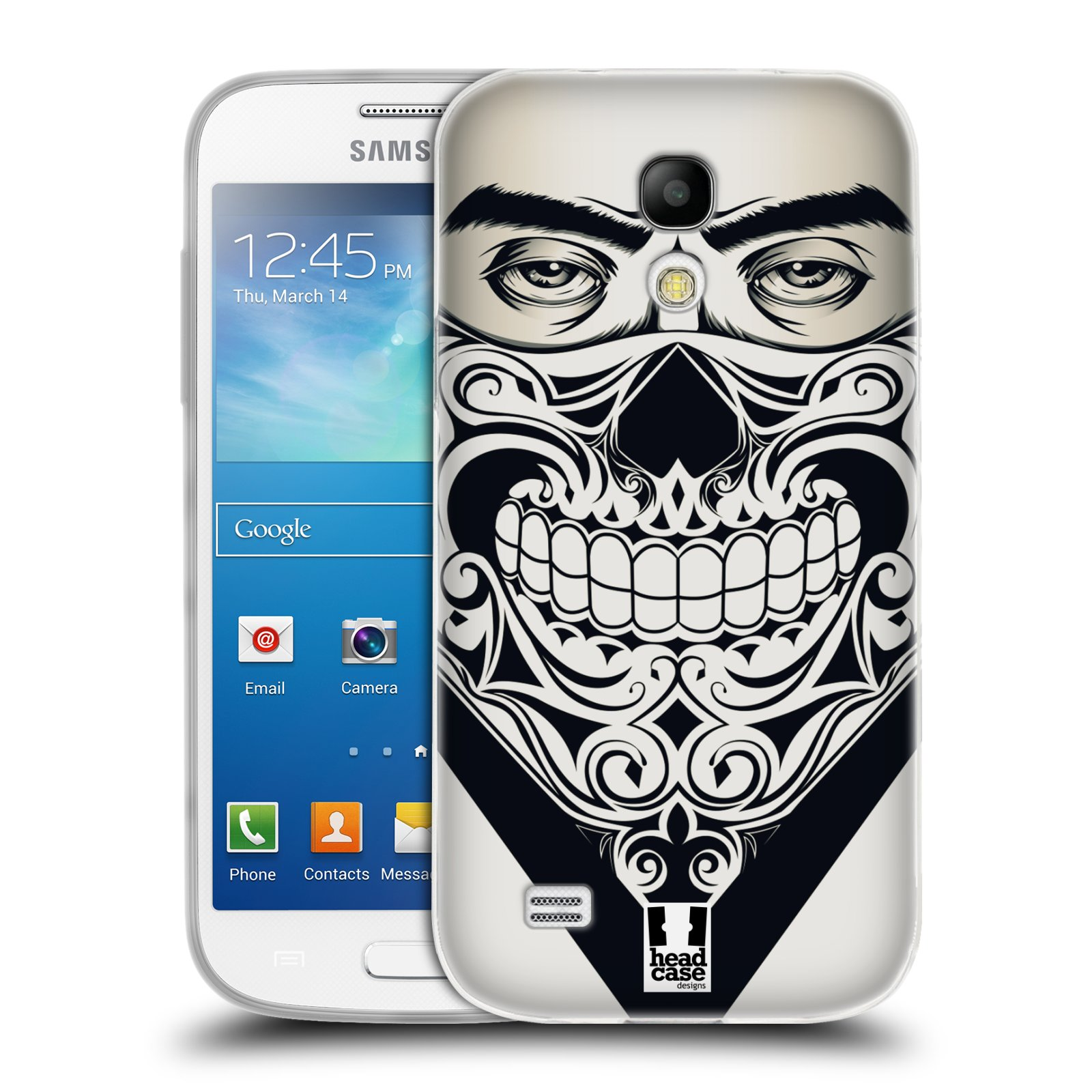 Silikonové pouzdro na mobil Samsung Galaxy S4 Mini HEAD CASE LEBKA BANDANA