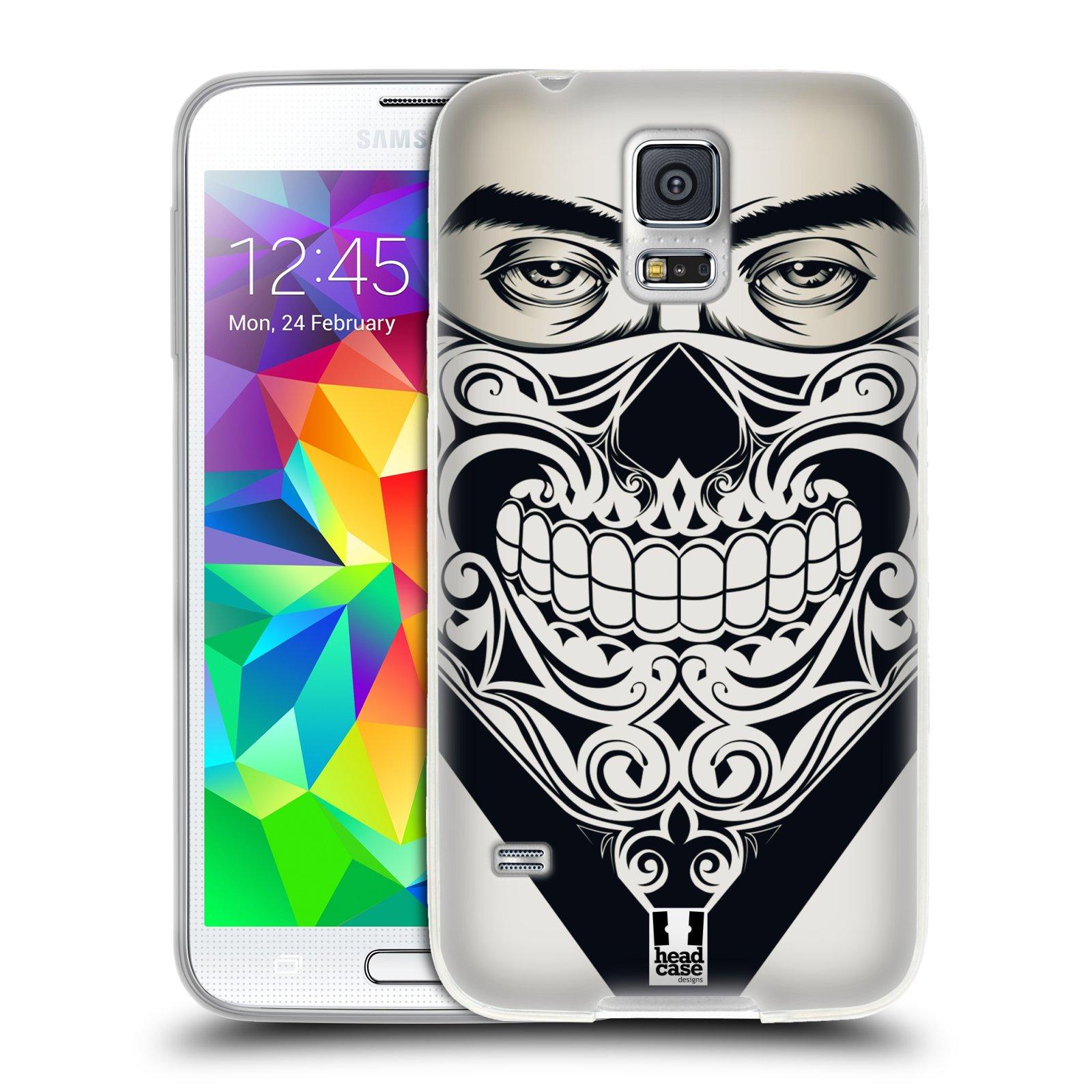 Silikonové pouzdro na mobil Samsung Galaxy S5 HEAD CASE LEBKA BANDANA