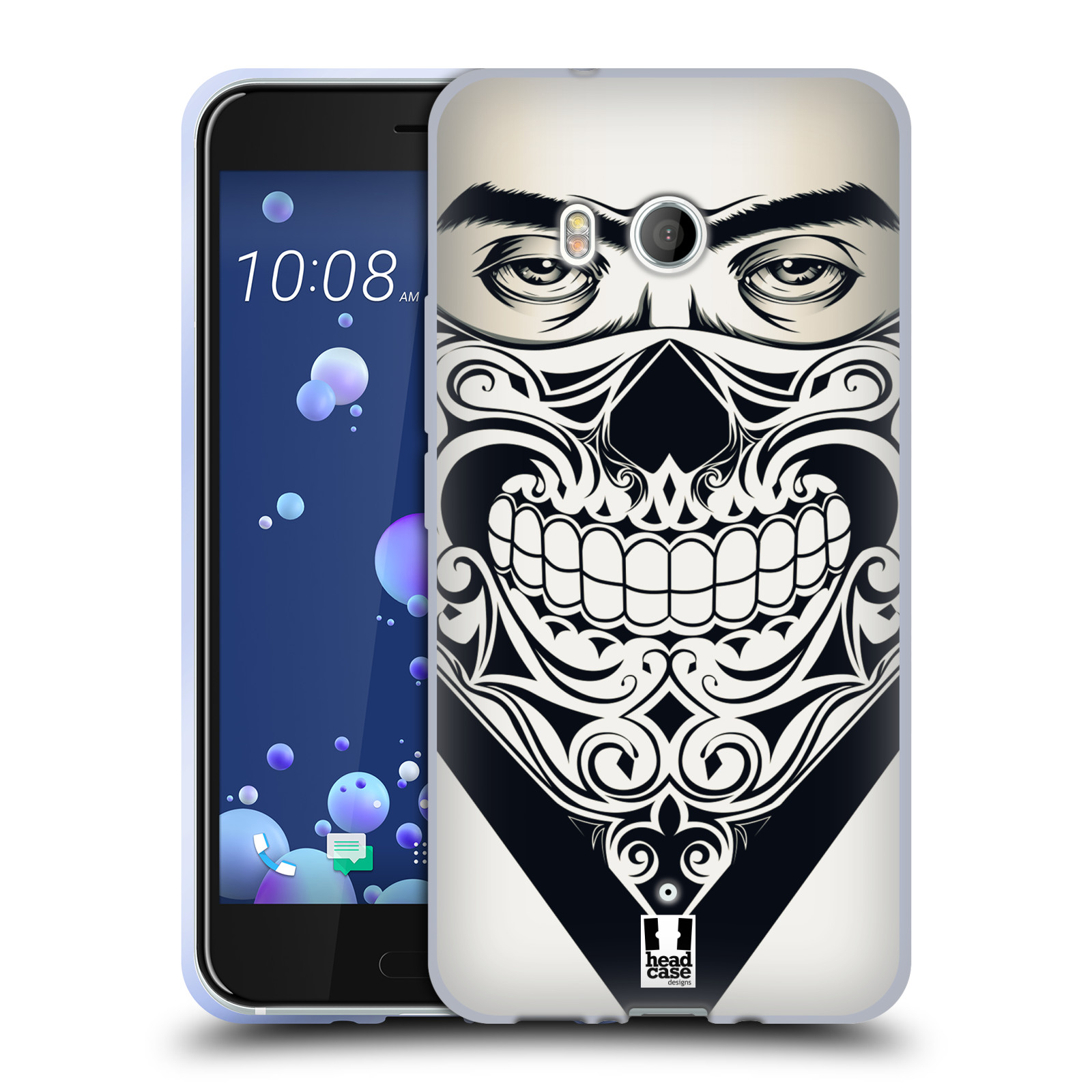 Silikonové pouzdro na mobil HTC U11 - Head Case - LEBKA BANDANA