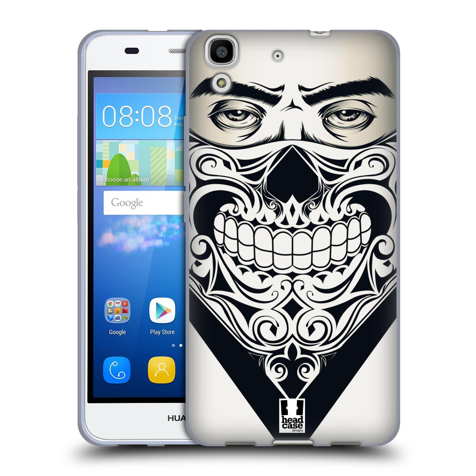 Silikonové pouzdro na mobil Huawei Y6 HEAD CASE LEBKA BANDANA