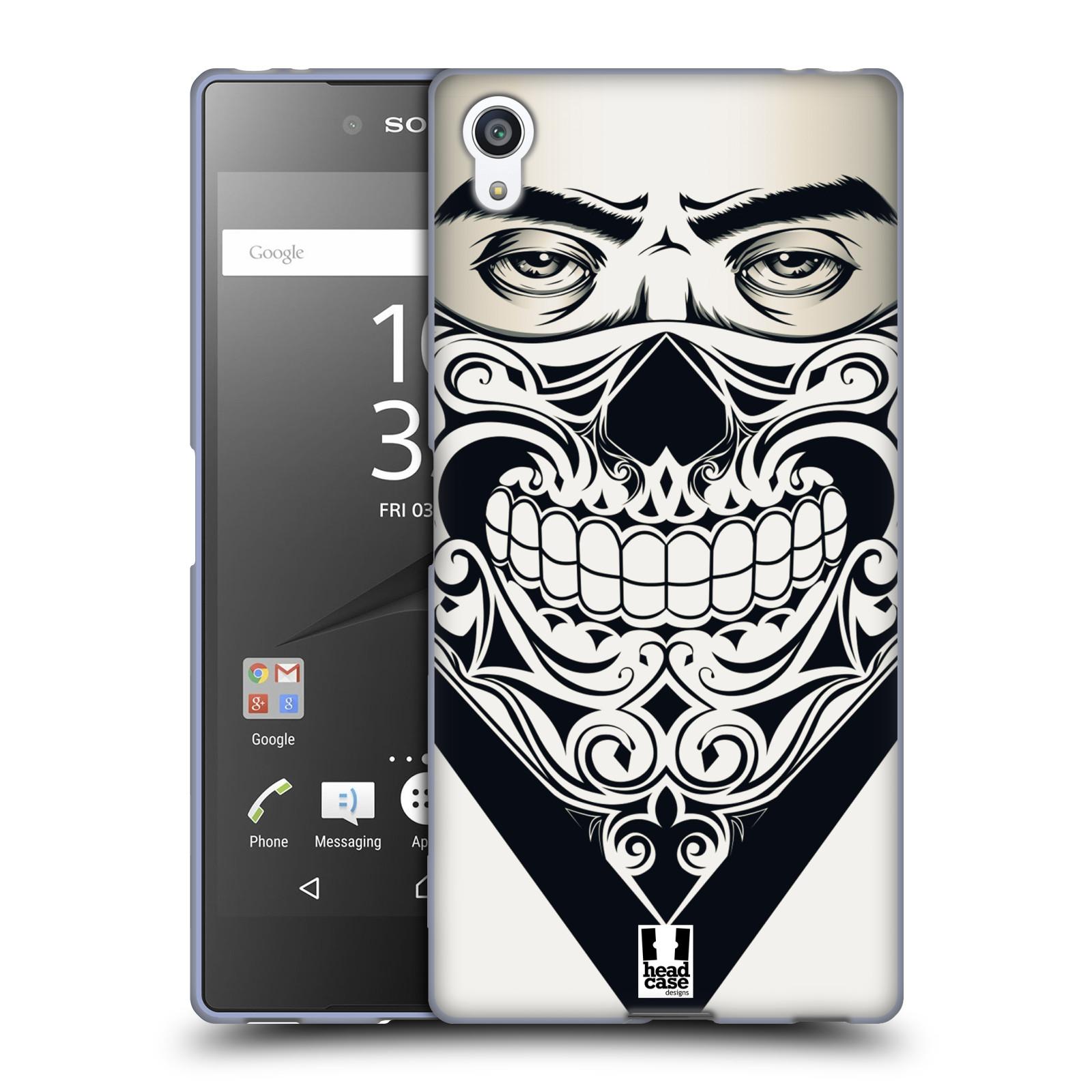 Silikonové pouzdro na mobil Sony Xperia Z5 Premium HEAD CASE LEBKA BANDANA