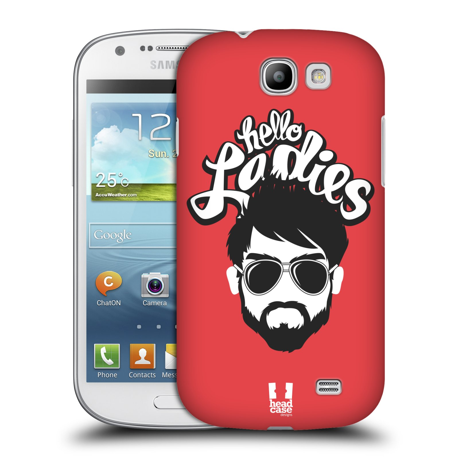 Plastové pouzdro na mobil Samsung Galaxy Express HEAD CASE KNÍRAČ HELLO LADIES (Kryt či obal na mobilní telefon Samsung Galaxy Express GT-i8730)