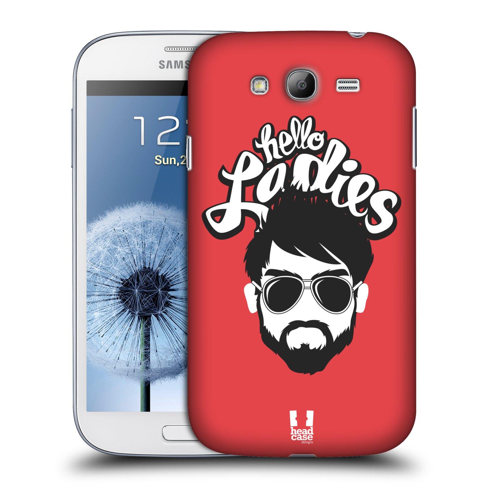 Plastové pouzdro na mobil Samsung Galaxy Grand Neo Plus HEAD CASE KNÍRAČ HELLO LADIES (Kryt či obal na mobilní telefon Samsung Galaxy Grand Neo Plus GT-i9060i)