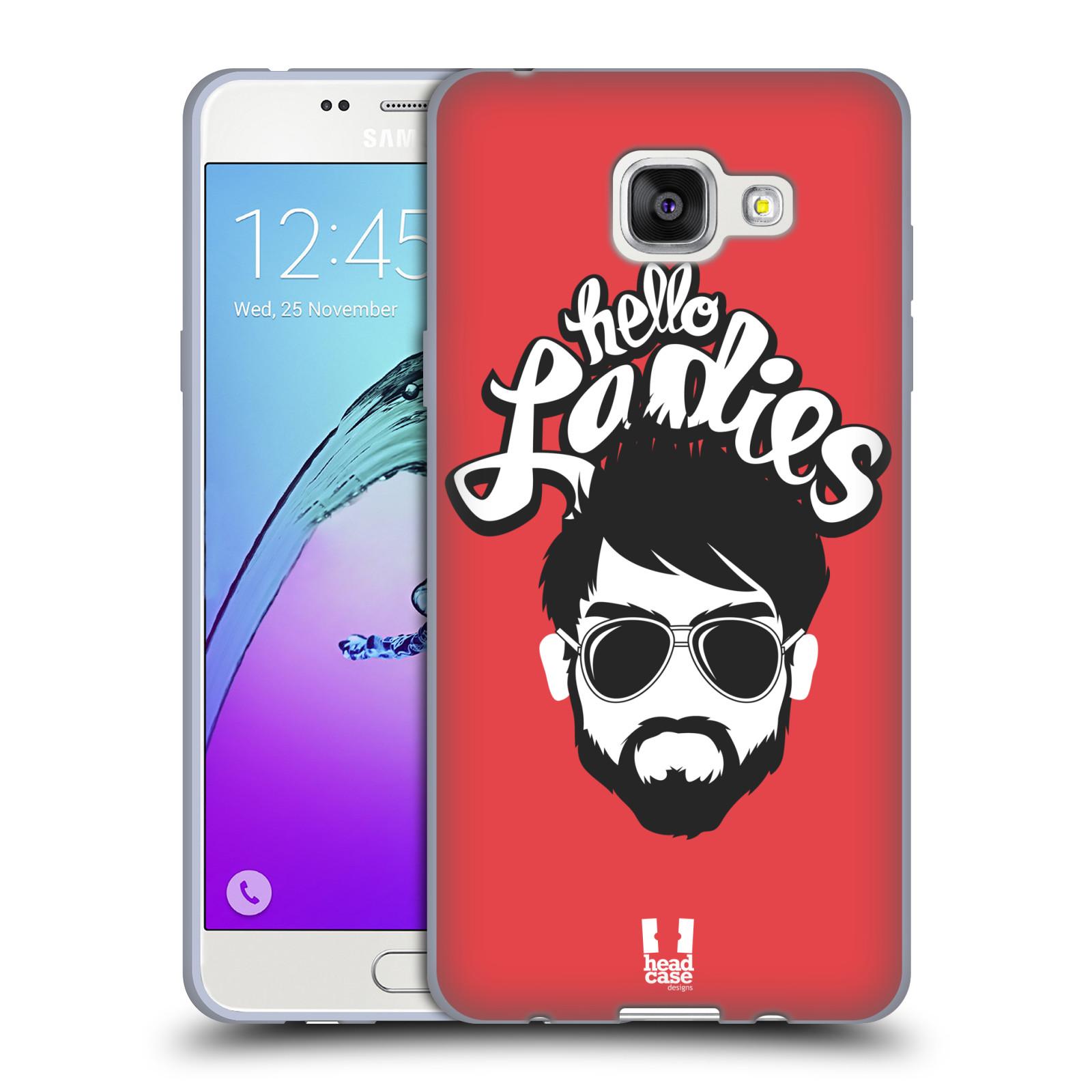 Silikonové pouzdro na mobil Samsung Galaxy A5 (2016) HEAD CASE KNÍRAČ HELLO LADIES (Silikonový kryt či obal na mobilní telefon Samsung Galaxy A5 (2016) SM-A510F)
