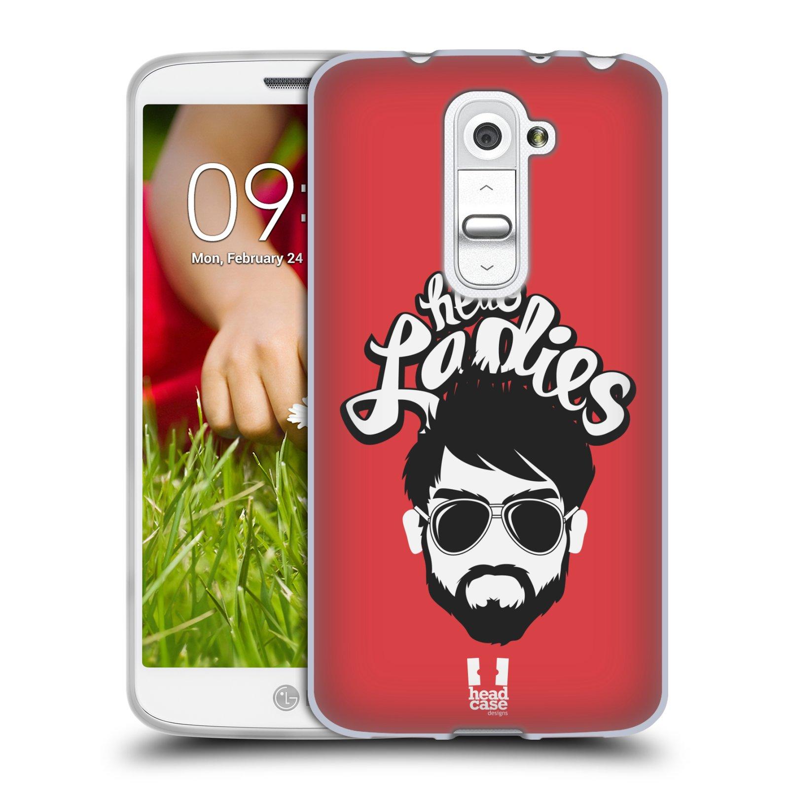 Silikonové pouzdro na mobil LG G2 Mini HEAD CASE KNÍRAČ HELLO LADIES (Silikonový kryt či obal na mobilní telefon LG G2 Mini D620)