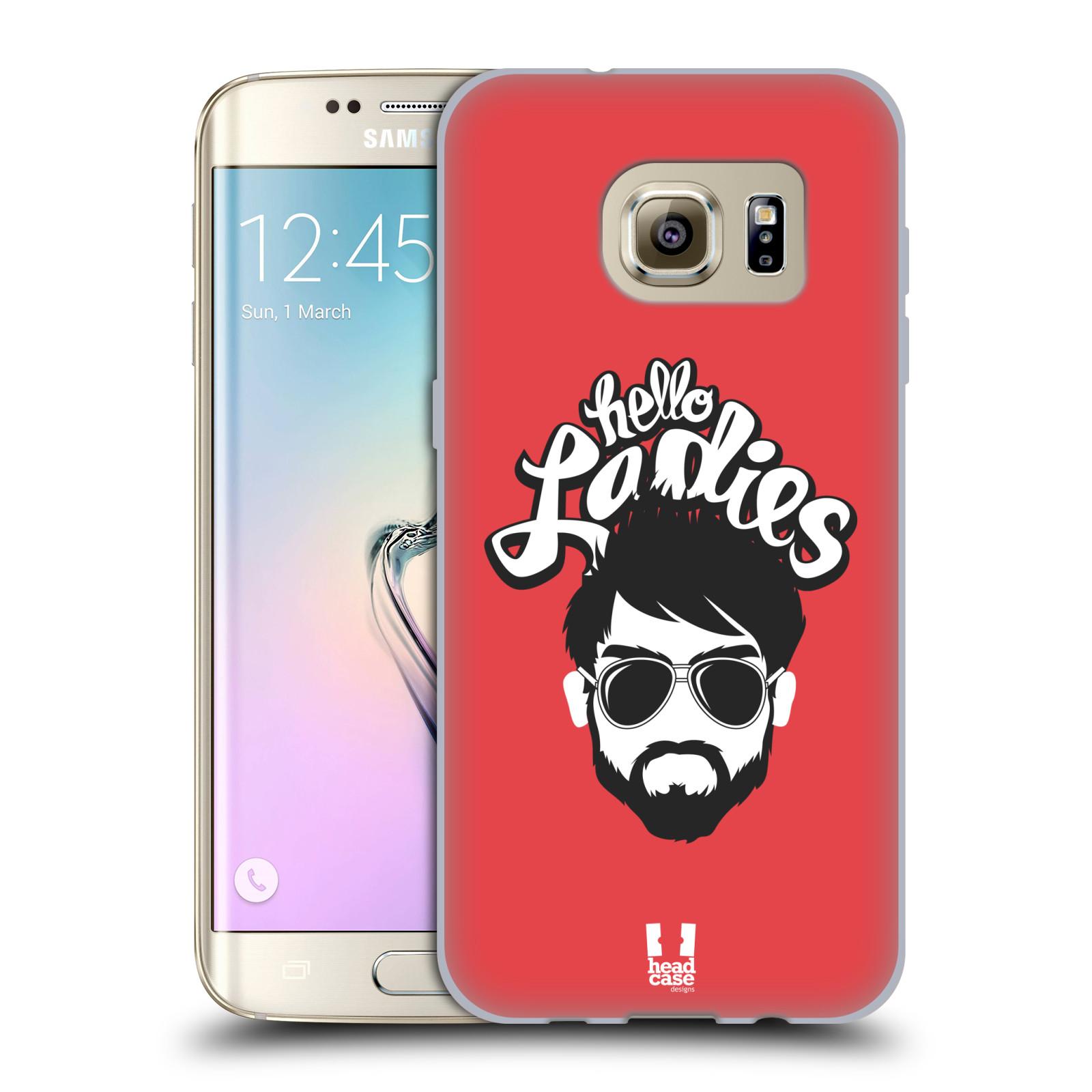 Silikonové pouzdro na mobil Samsung Galaxy S7 Edge HEAD CASE KNÍRAČ HELLO LADIES (Silikonový kryt či obal na mobilní telefon Samsung Galaxy S7 Edge SM-G935F)