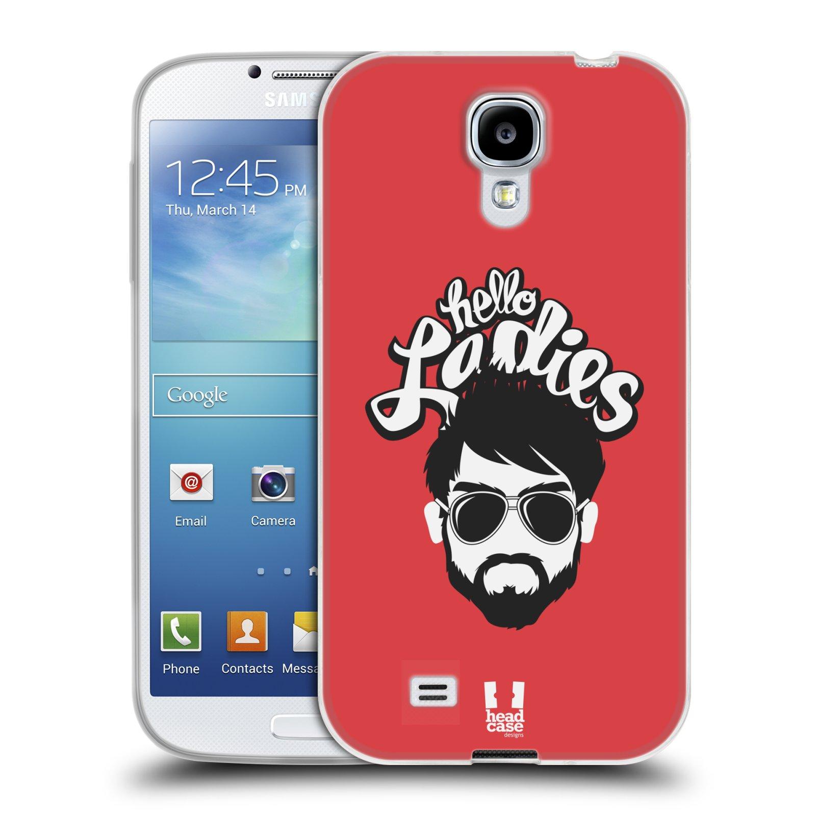 Silikonové pouzdro na mobil Samsung Galaxy S4 HEAD CASE KNÍRAČ HELLO LADIES (Silikonový kryt či obal na mobilní telefon Samsung Galaxy S4 GT-i9505 / i9500)