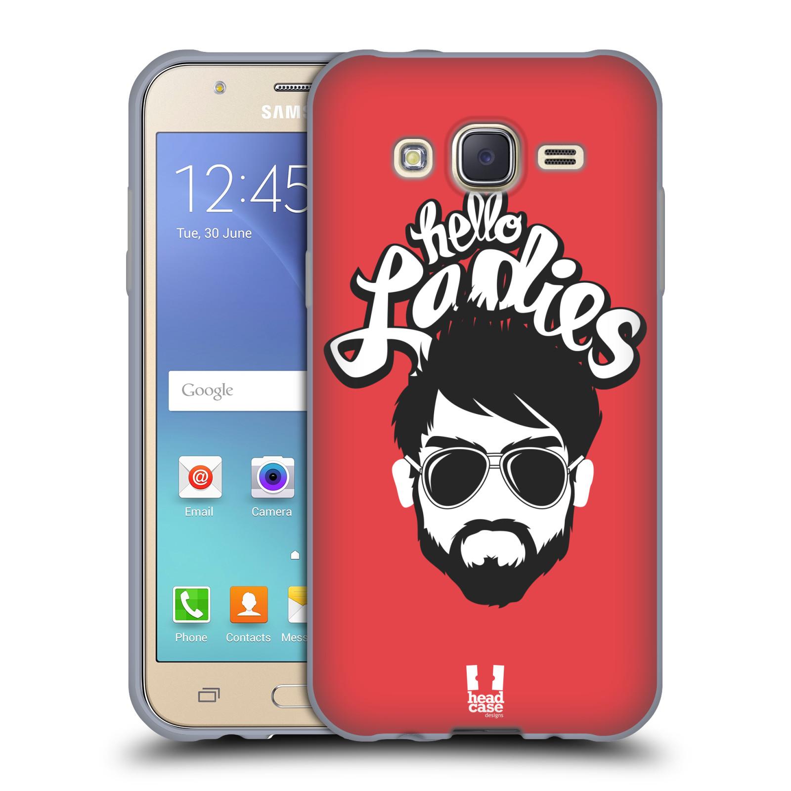 Silikonové pouzdro na mobil Samsung Galaxy J5 HEAD CASE KNÍRAČ HELLO LADIES (Silikonový kryt či obal na mobilní telefon Samsung Galaxy Samsung Galaxy J5 SM-J500)