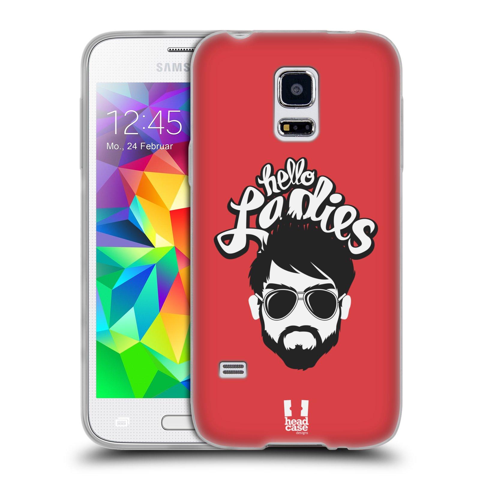 Silikonové pouzdro na mobil Samsung Galaxy S5 Mini HEAD CASE KNÍRAČ HELLO LADIES (Silikonový kryt či obal na mobilní telefon Samsung Galaxy S5 Mini SM-G800F)