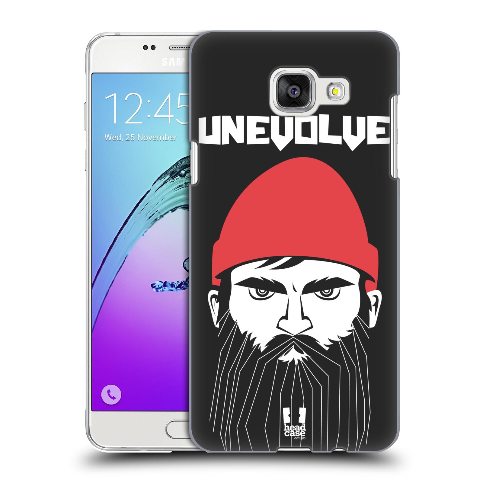 Plastové pouzdro na mobil Samsung Galaxy A5 (2016) HEAD CASE KNÍRAČ UNEVOLVE
