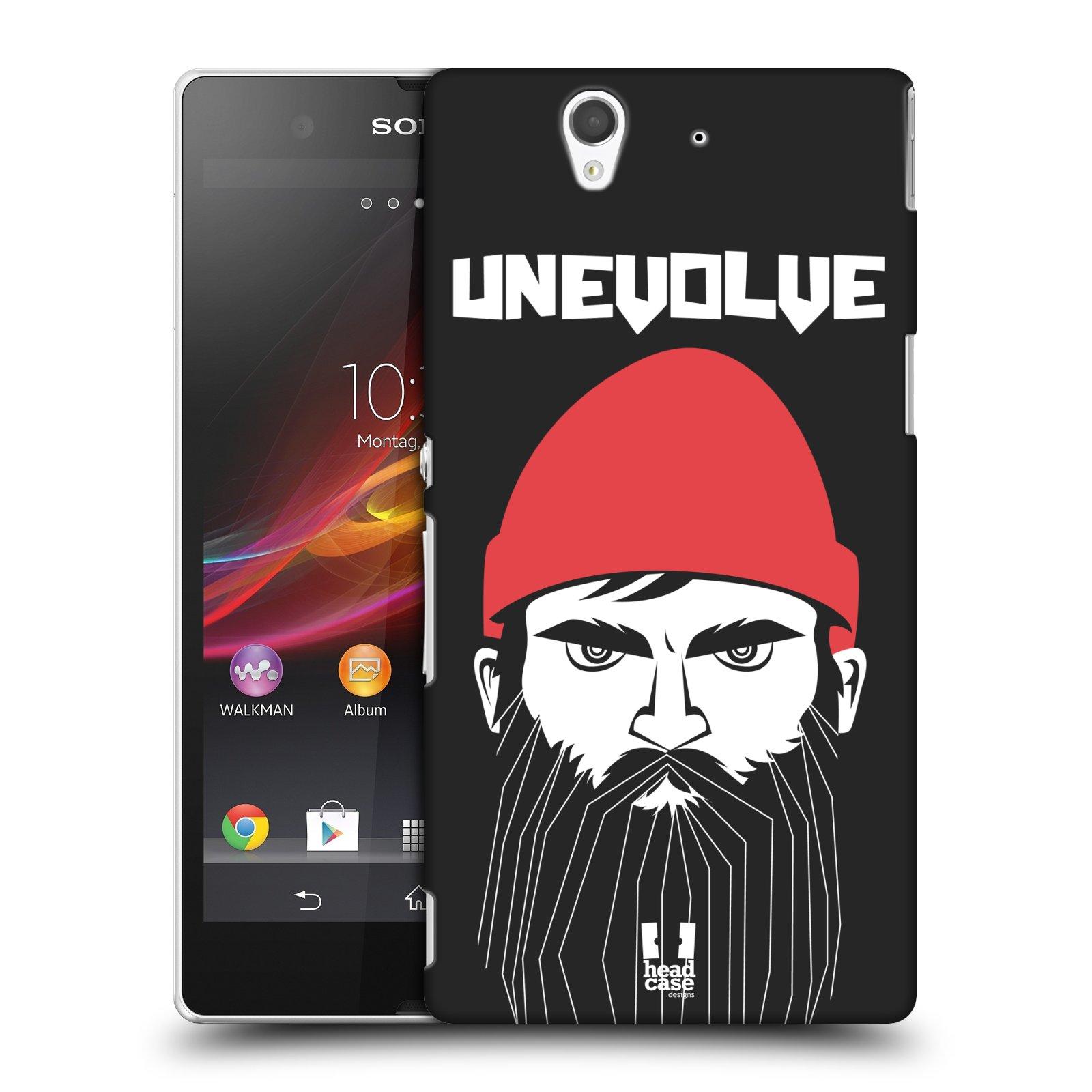 Plastové pouzdro na mobil Sony Xperia Z C6603 HEAD CASE KNÍRAČ UNEVOLVE