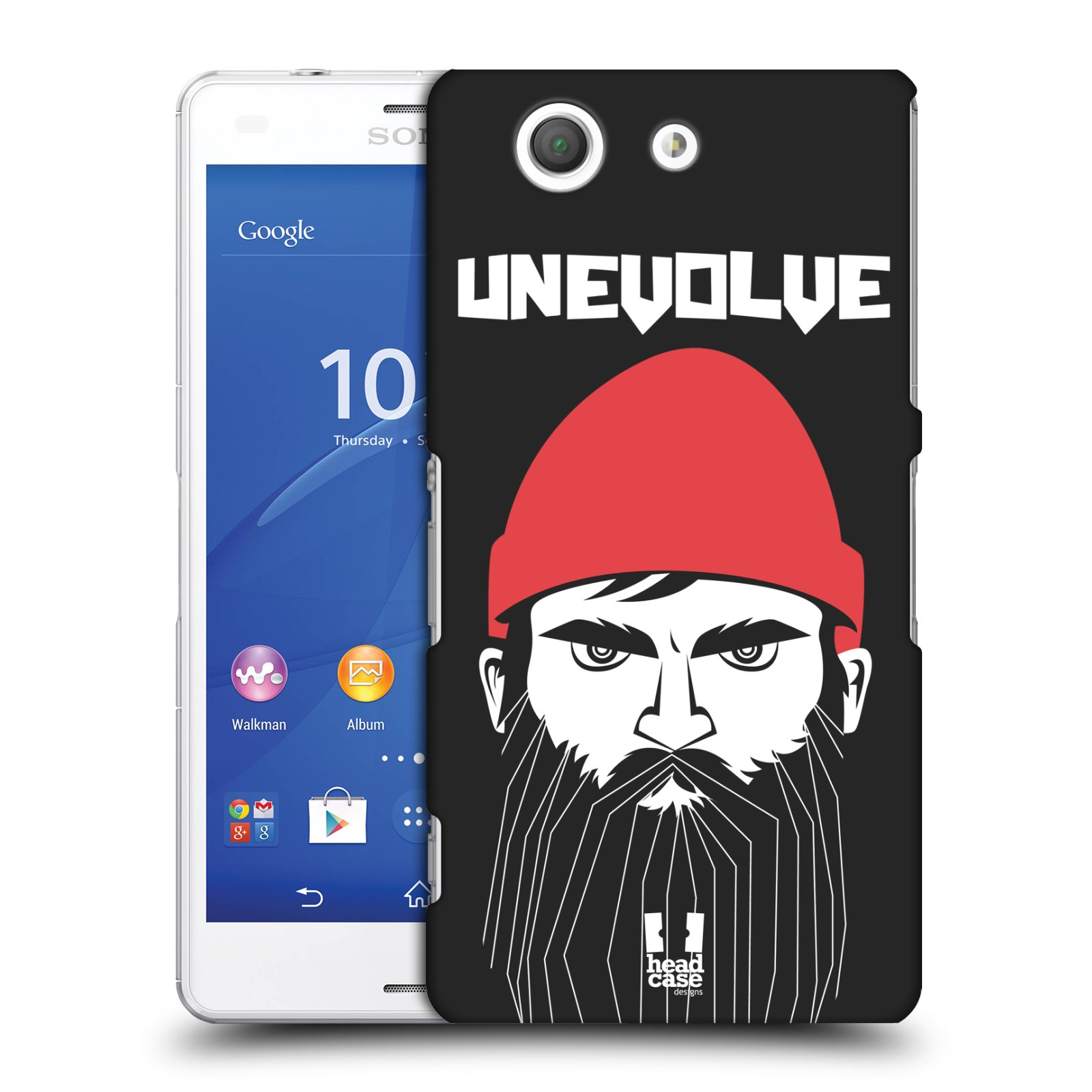 Plastové pouzdro na mobil Sony Xperia Z3 Compact D5803 HEAD CASE KNÍRAČ UNEVOLVE
