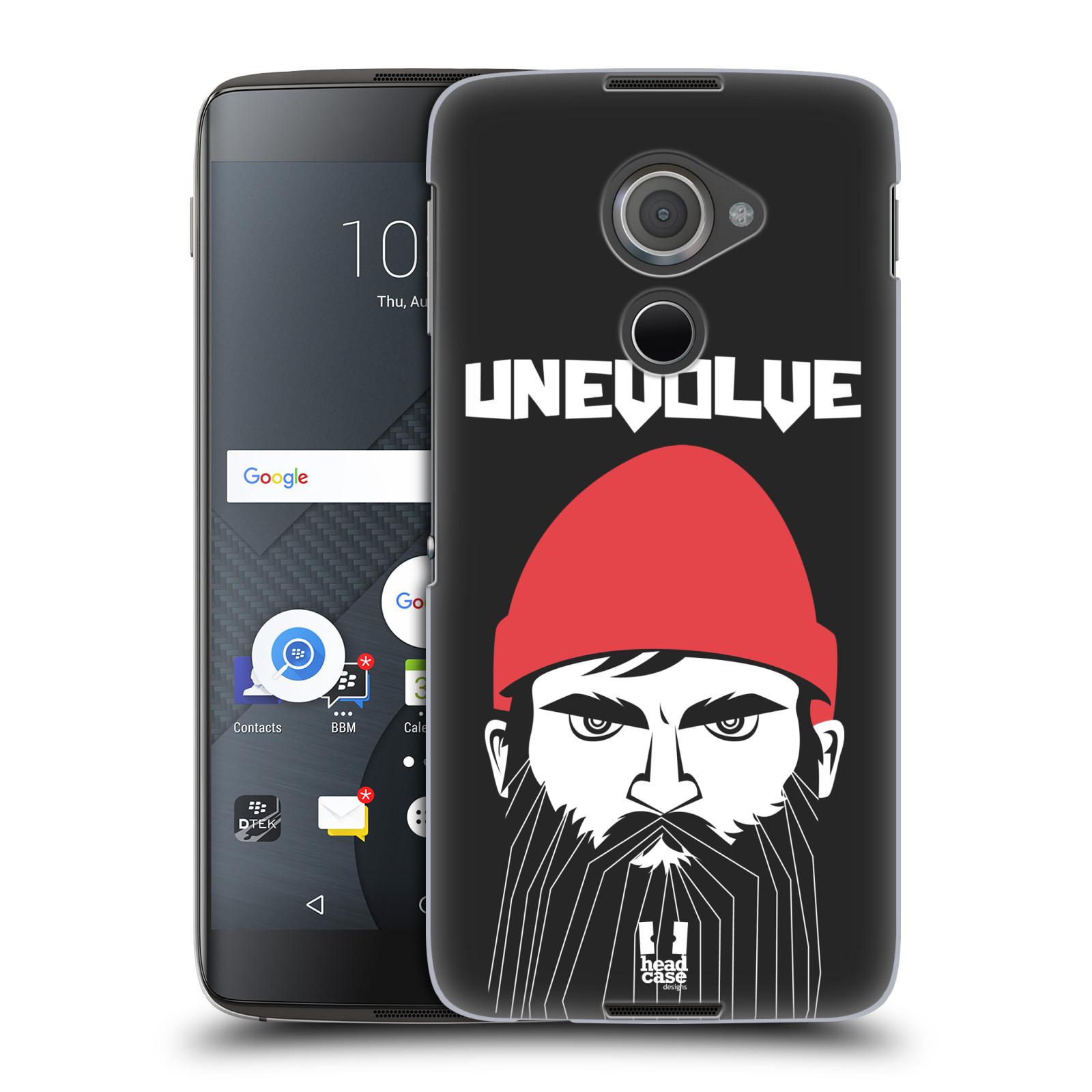 Plastové pouzdro na mobil Blackberry DTEK60 (Argon) - Head Case KNÍRAČ UNEVOLVE