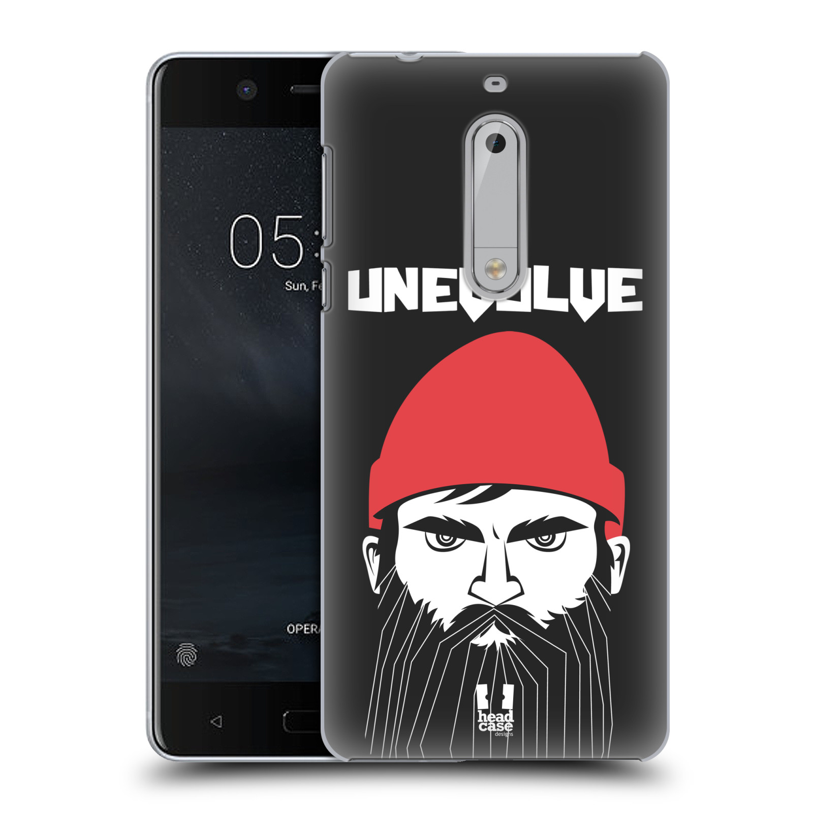Plastové pouzdro na mobil Nokia 5 Head Case - KNÍRAČ UNEVOLVE