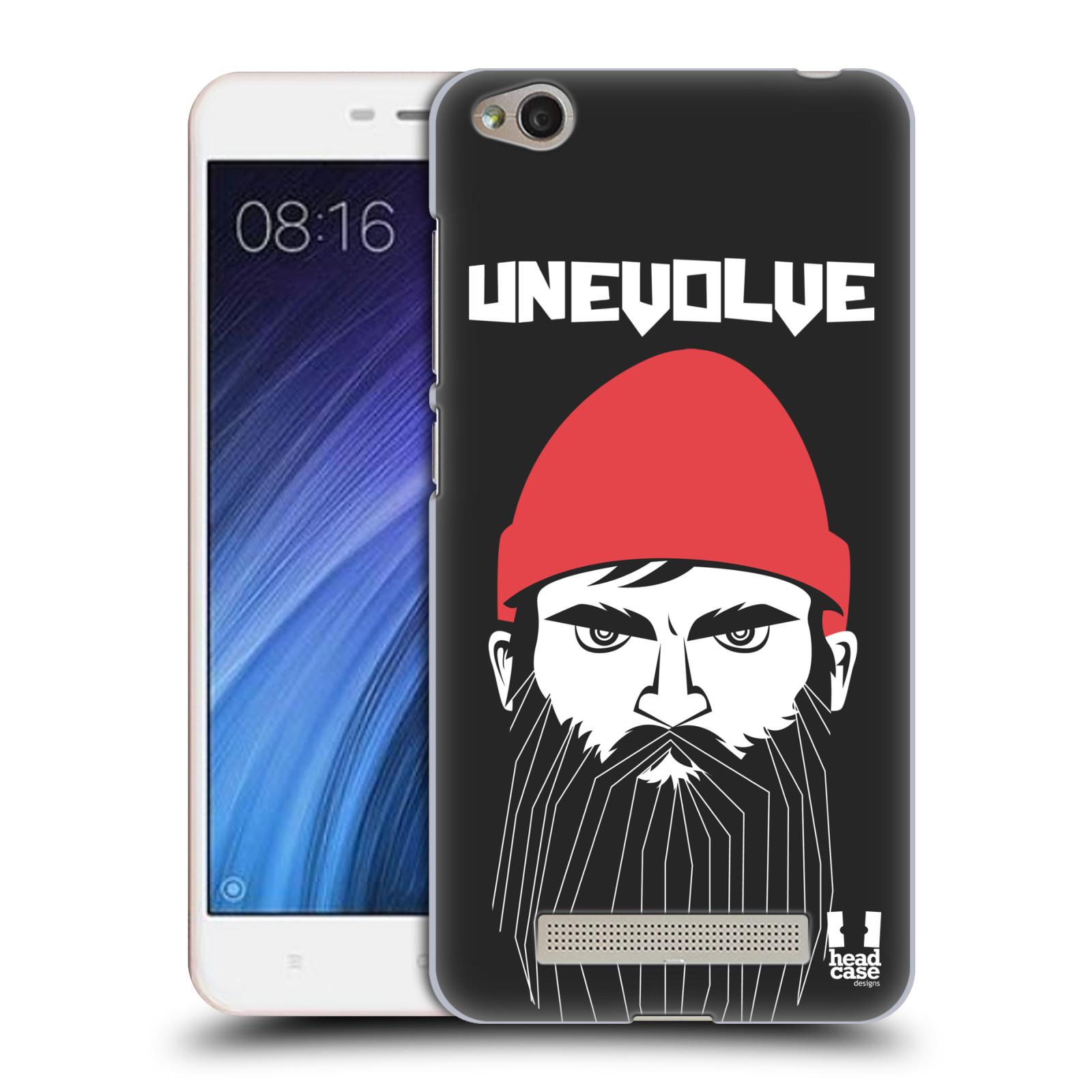 Plastové pouzdro na mobil Xiaomi Redmi 4A HEAD CASE KNÍRAČ UNEVOLVE