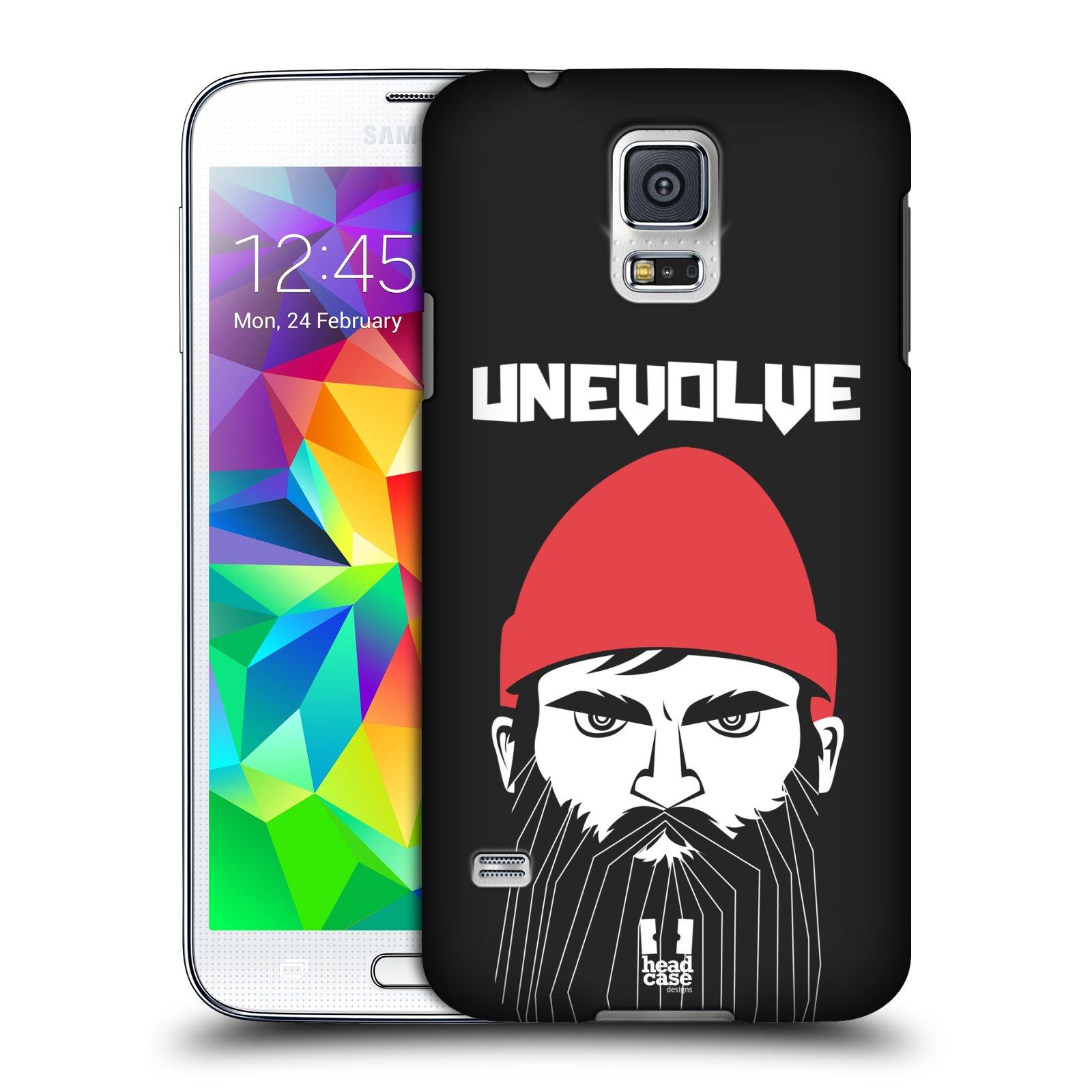 Plastové pouzdro na mobil Samsung Galaxy S5 HEAD CASE KNÍRAČ UNEVOLVE