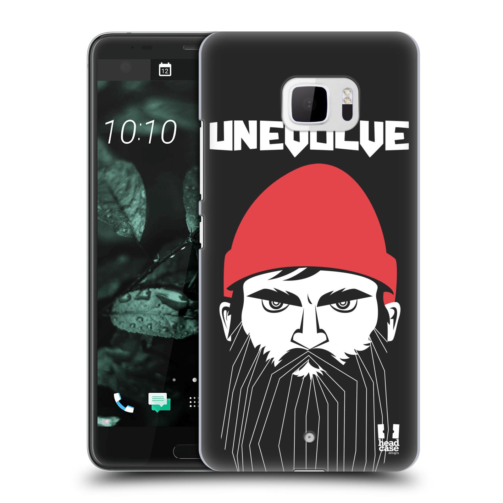 Plastové pouzdro na mobil HTC U Ultra Head Case - KNÍRAČ UNEVOLVE