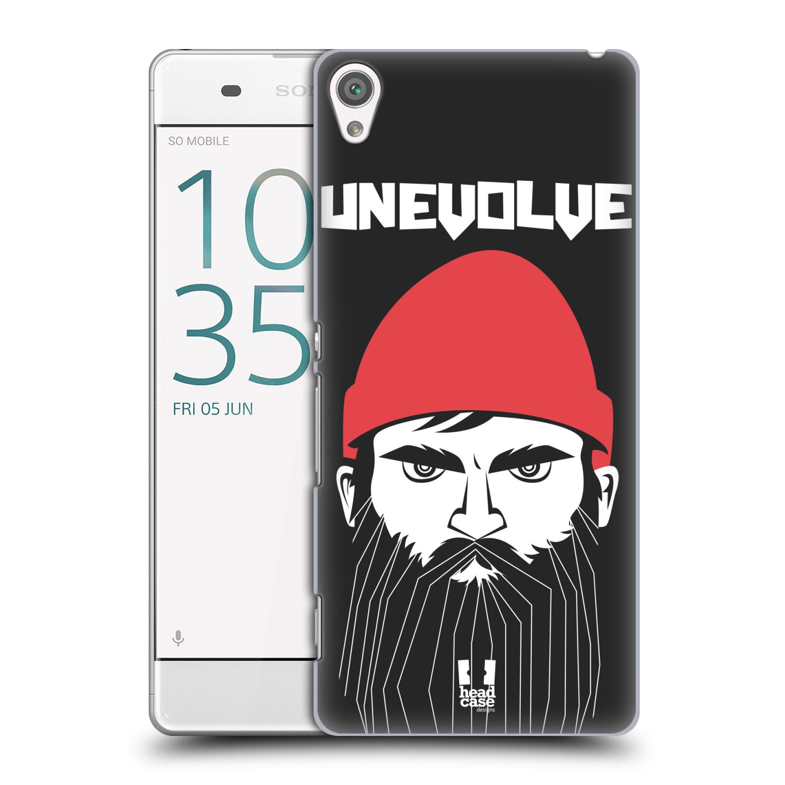 Plastové pouzdro na mobil Sony Xperia XA HEAD CASE KNÍRAČ UNEVOLVE