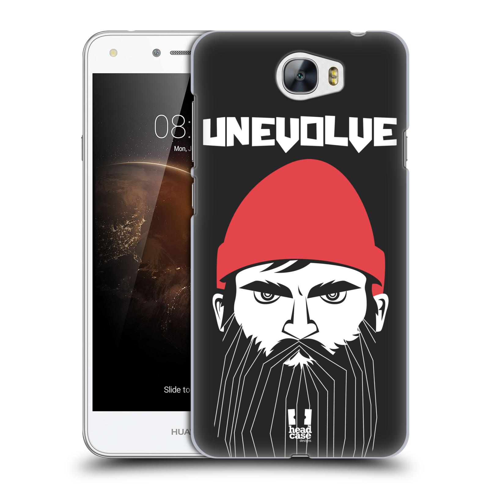 Plastové pouzdro na mobil Huawei Y5 II HEAD CASE KNÍRAČ UNEVOLVE