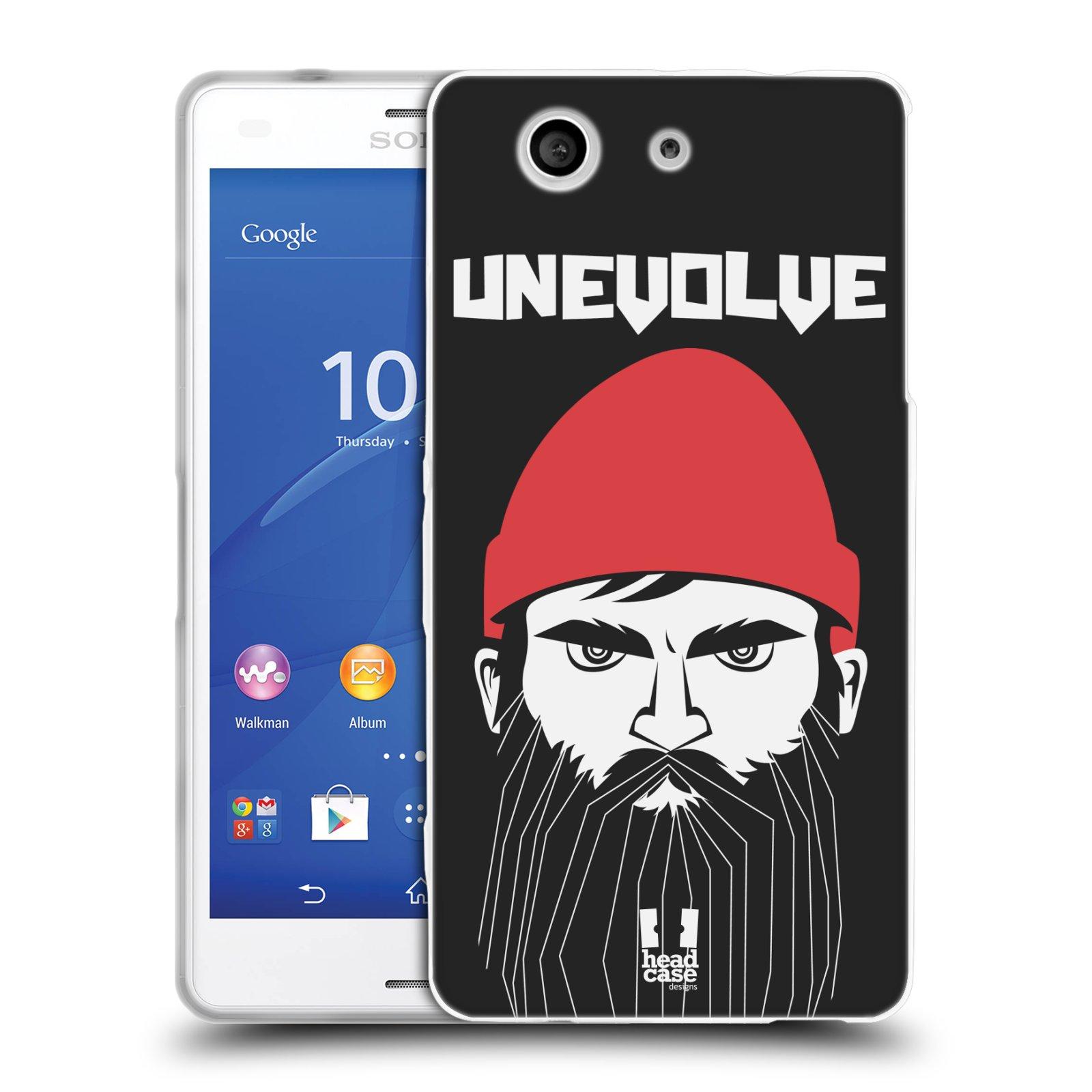 Silikonové pouzdro na mobil Sony Xperia Z3 Compact D5803 HEAD CASE KNÍRAČ UNEVOLVE