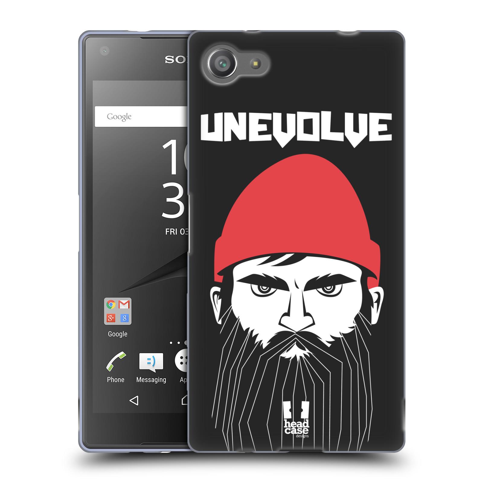 Silikonové pouzdro na mobil Sony Xperia Z5 Compact HEAD CASE KNÍRAČ UNEVOLVE