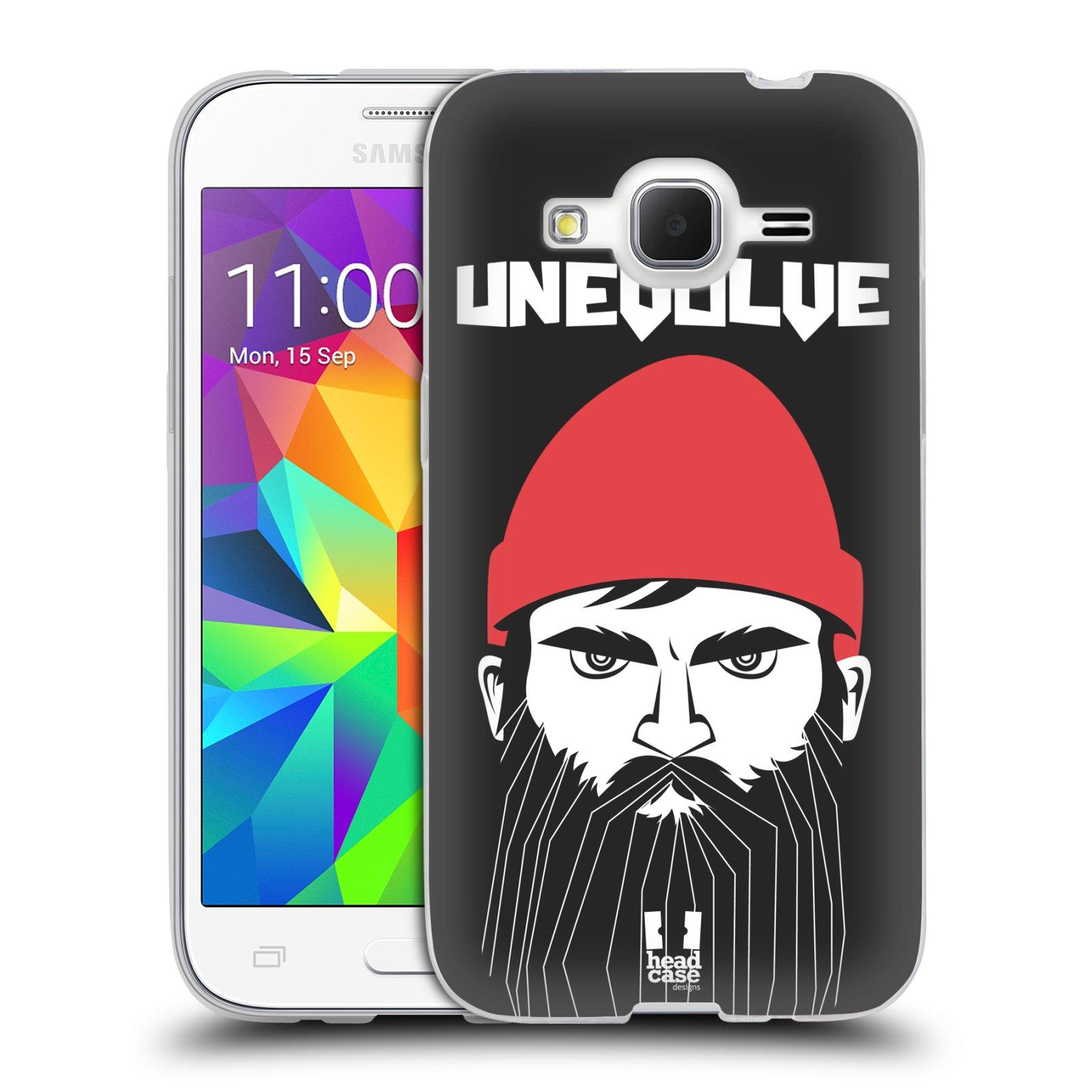 Silikonové pouzdro na mobil Samsung Galaxy Core Prime LTE HEAD CASE KNÍRAČ UNEVOLVE