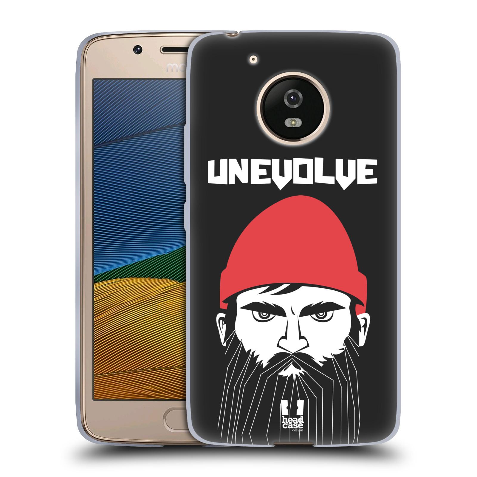 Silikonové pouzdro na mobil Lenovo Moto G5 - Head Case KNÍRAČ UNEVOLVE