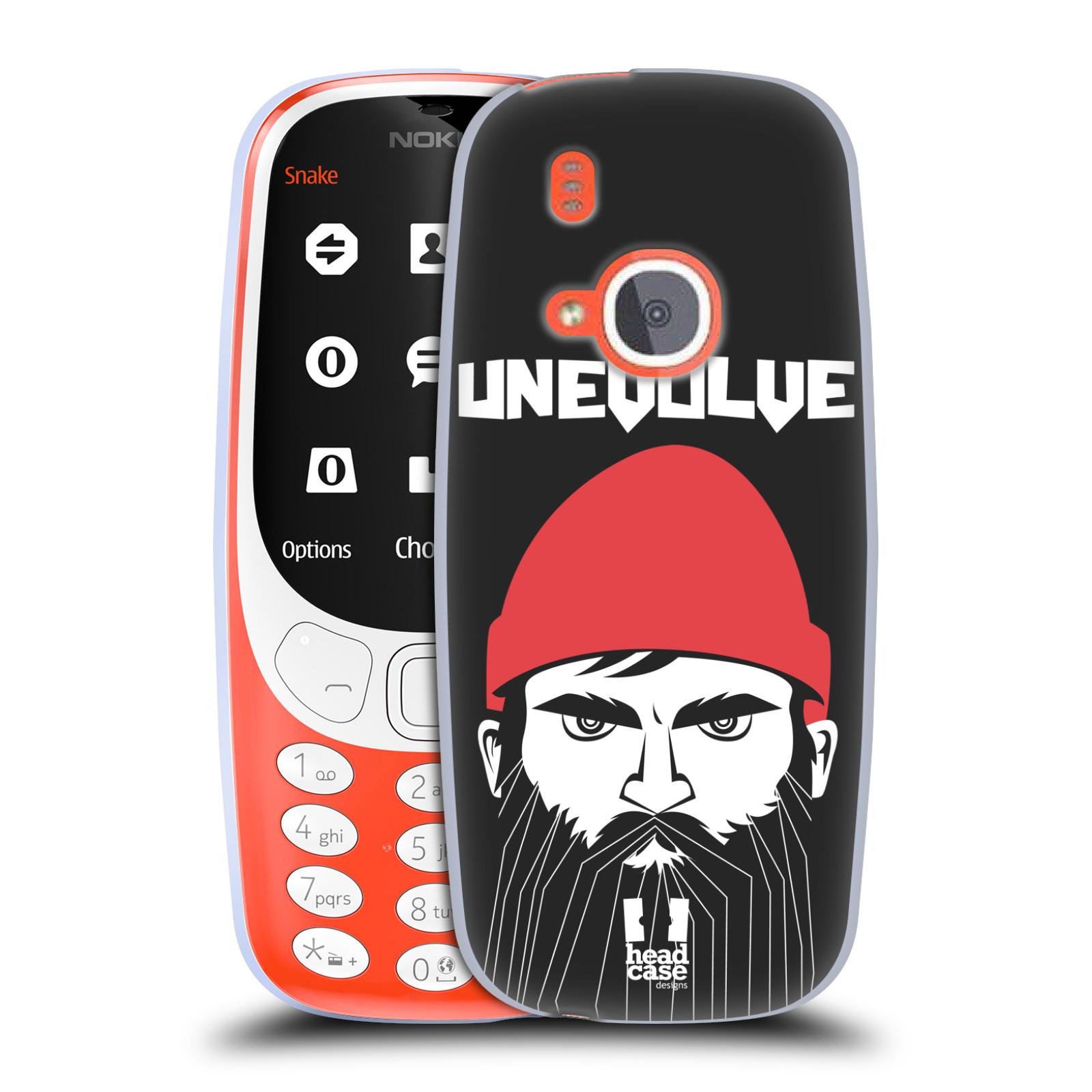 Silikonové pouzdro na mobil Nokia 3310 - Head Case - KNÍRAČ UNEVOLVE