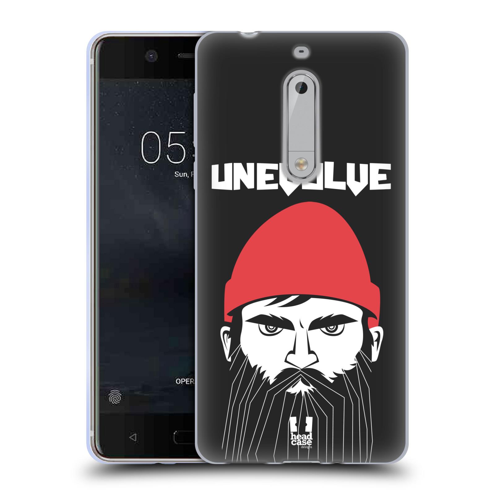 Silikonové pouzdro na mobil Nokia 5 Head Case - KNÍRAČ UNEVOLVE