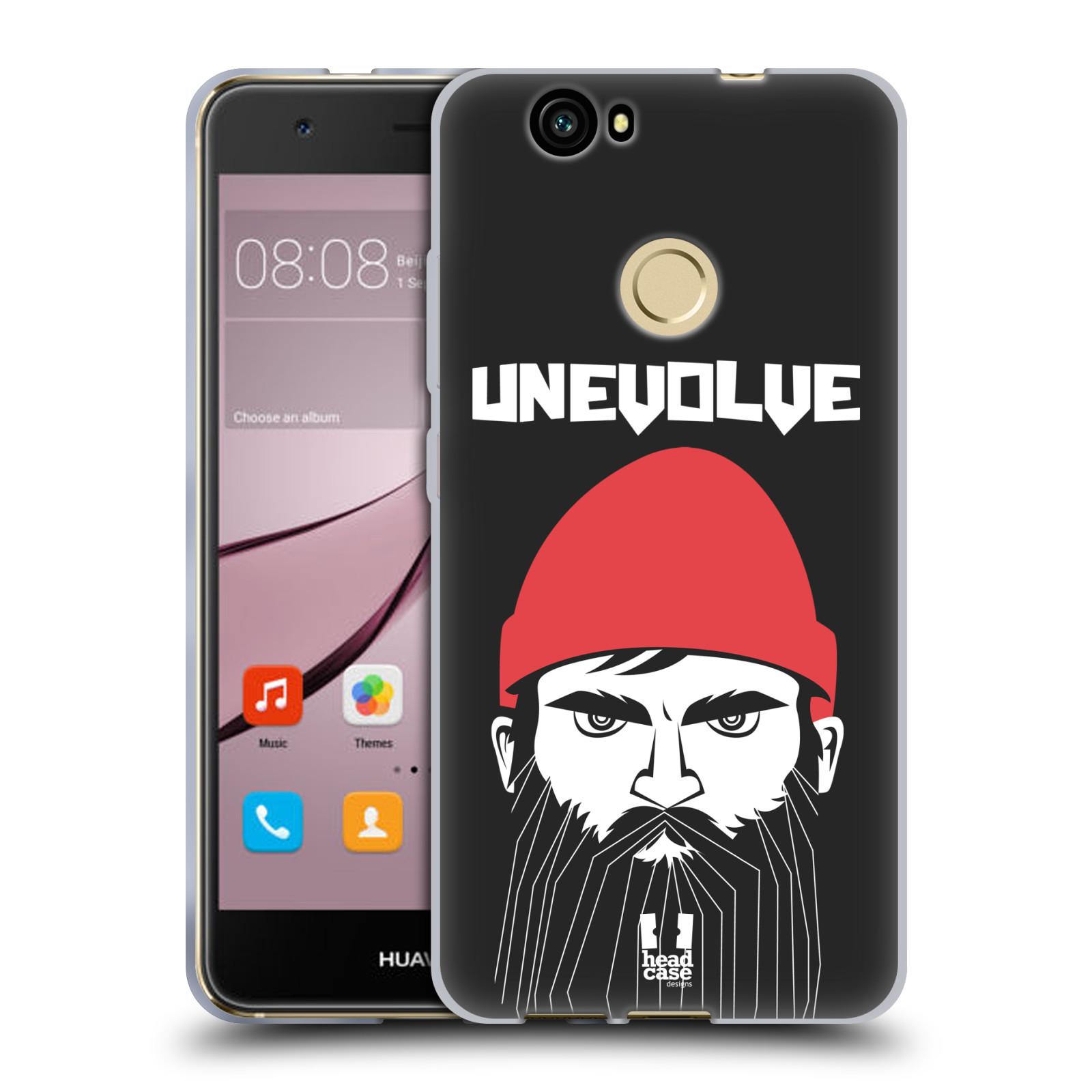 Silikonové pouzdro na mobil Huawei Nova - Head Case - KNÍRAČ UNEVOLVE