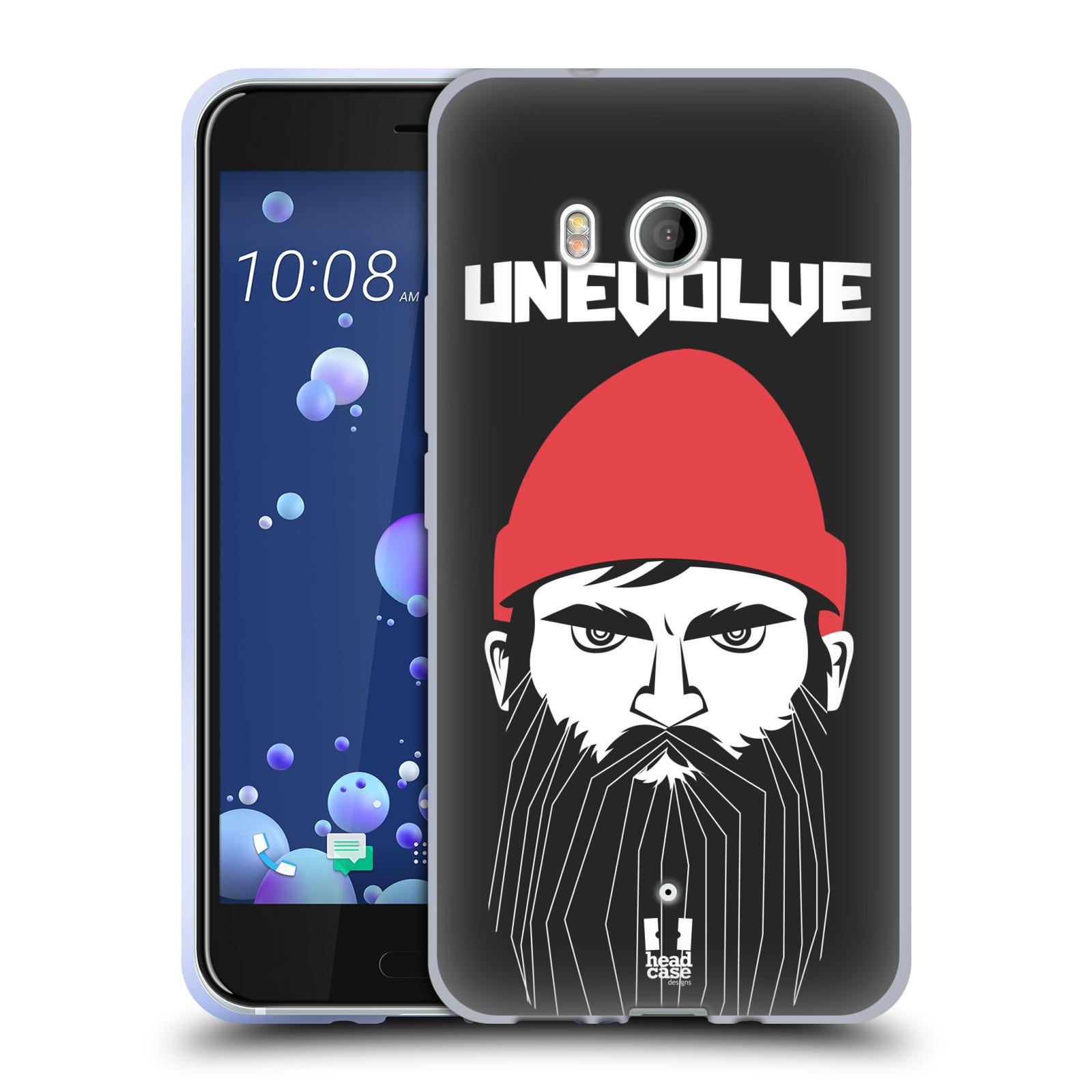 Silikonové pouzdro na mobil HTC U11 - Head Case - KNÍRAČ UNEVOLVE