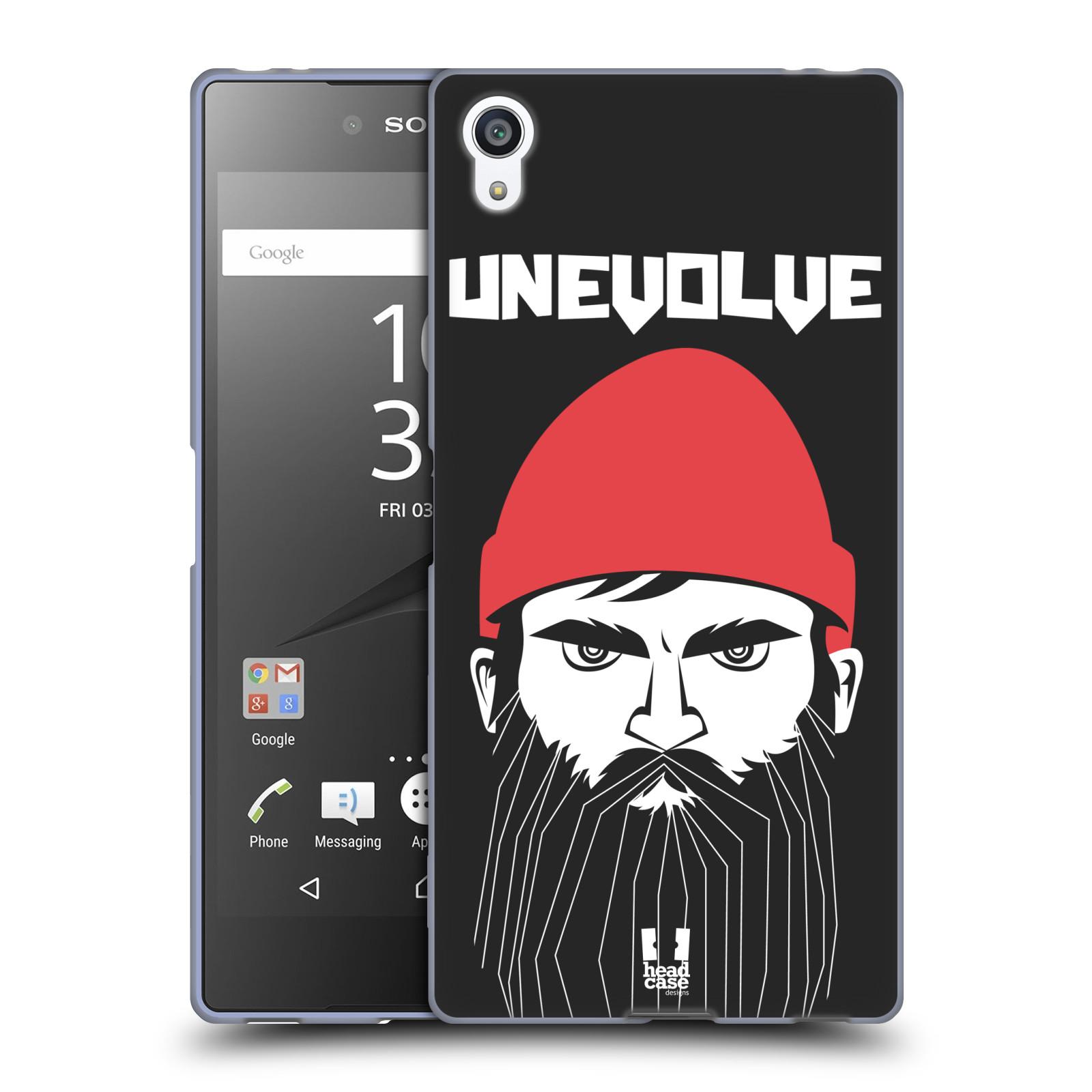 Silikonové pouzdro na mobil Sony Xperia Z5 Premium HEAD CASE KNÍRAČ UNEVOLVE