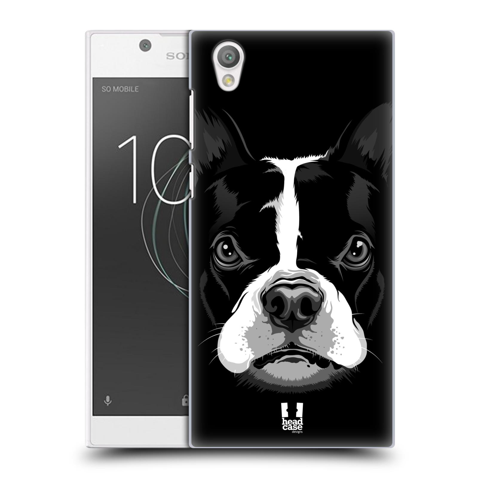 Plastové pouzdro na mobil Sony Xperia L1 - Head Case - ILUSTROVANÝ BULDOČEK