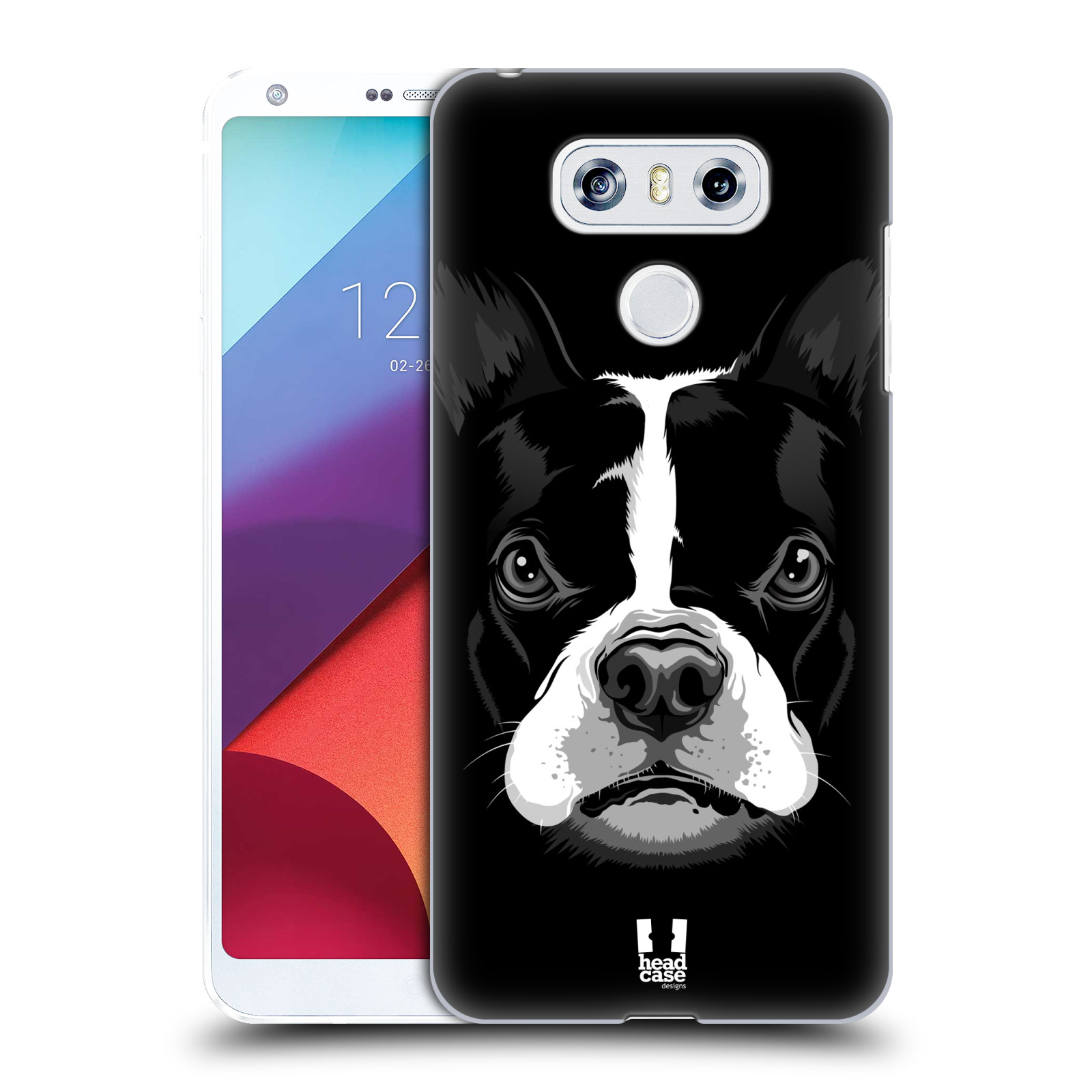 Plastové pouzdro na mobil LG G6 - Head Case ILUSTROVANÝ BULDOČEK