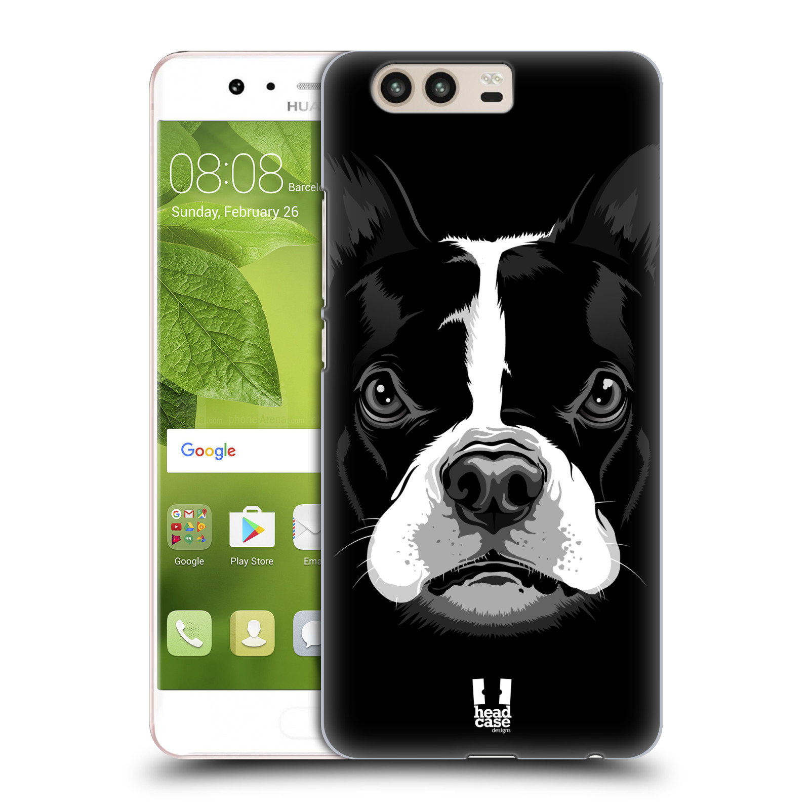 Plastové pouzdro na mobil Huawei P10 - Head Case ILUSTROVANÝ BULDOČEK