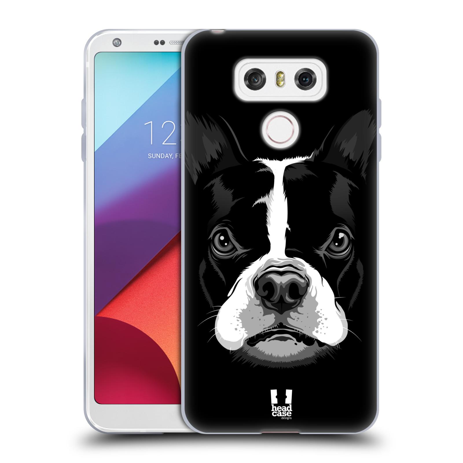 Silikonové pouzdro na mobil LG G6 - Head Case ILUSTROVANÝ BULDOČEK