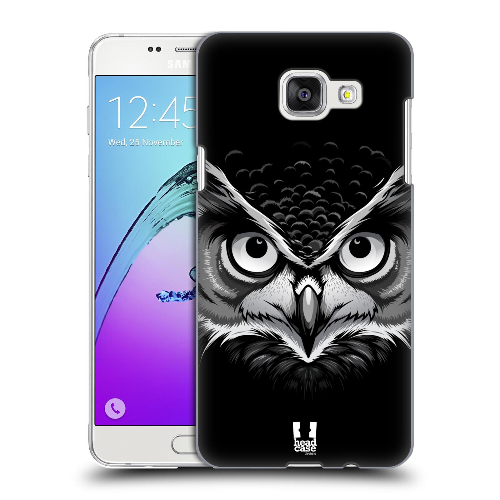 Plastové pouzdro na mobil Samsung Galaxy A5 (2016) HEAD CASE ILUSTROVANÁ SOVA