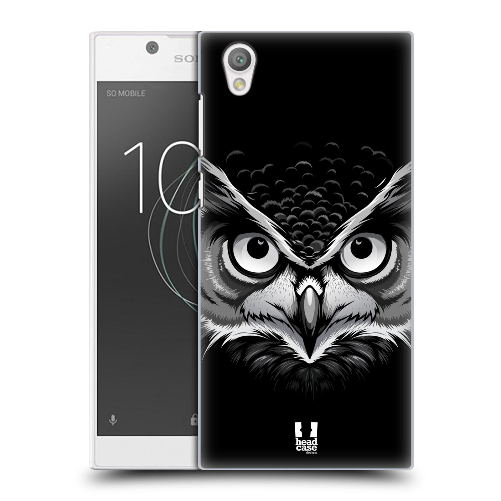 Plastové pouzdro na mobil Sony Xperia L1 - Head Case - ILUSTROVANÁ SOVA