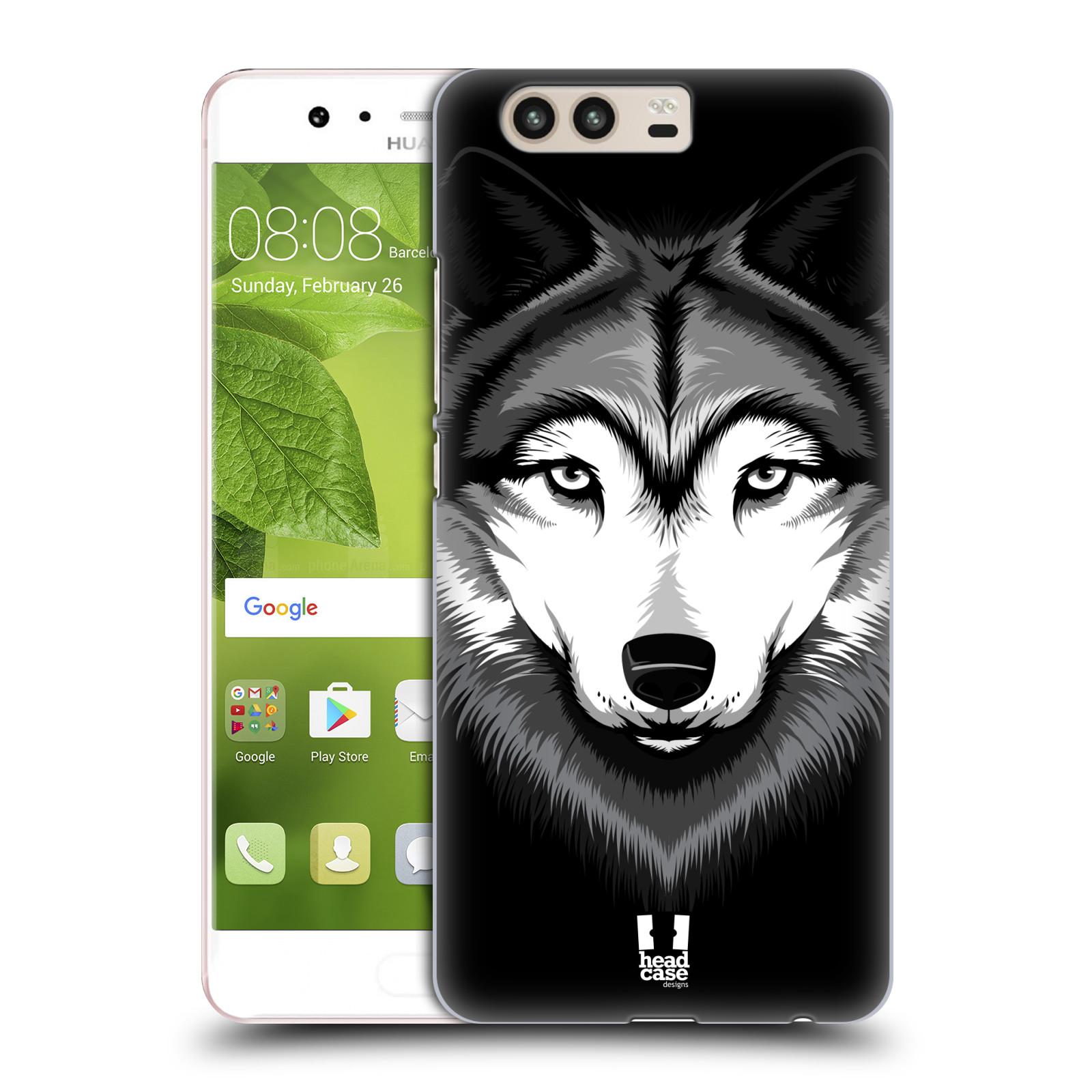 Plastové pouzdro na mobil Huawei P10 - Head Case ILUSTROVANÝ VLK