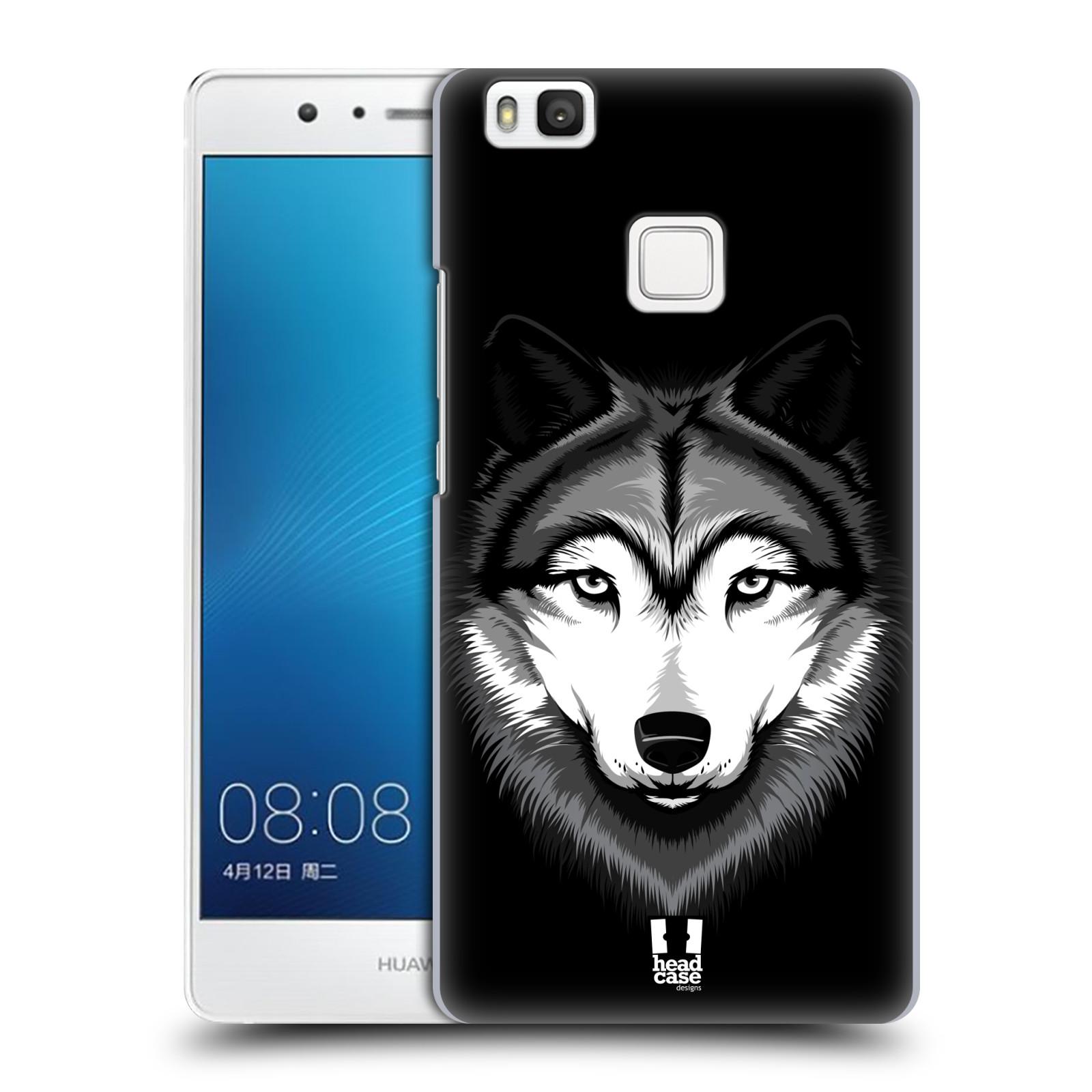 Plastové pouzdro na mobil Huawei P9 Lite HEAD CASE ILUSTROVANÝ VLK