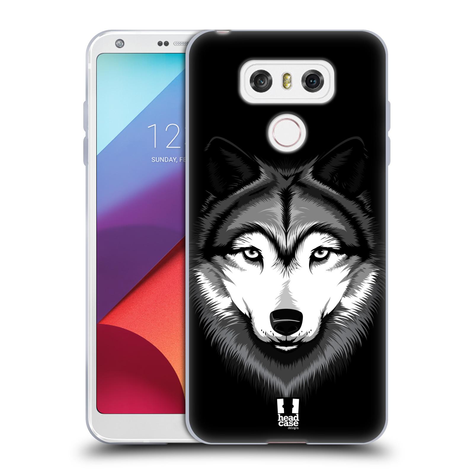 Silikonové pouzdro na mobil LG G6 - Head Case ILUSTROVANÝ VLK