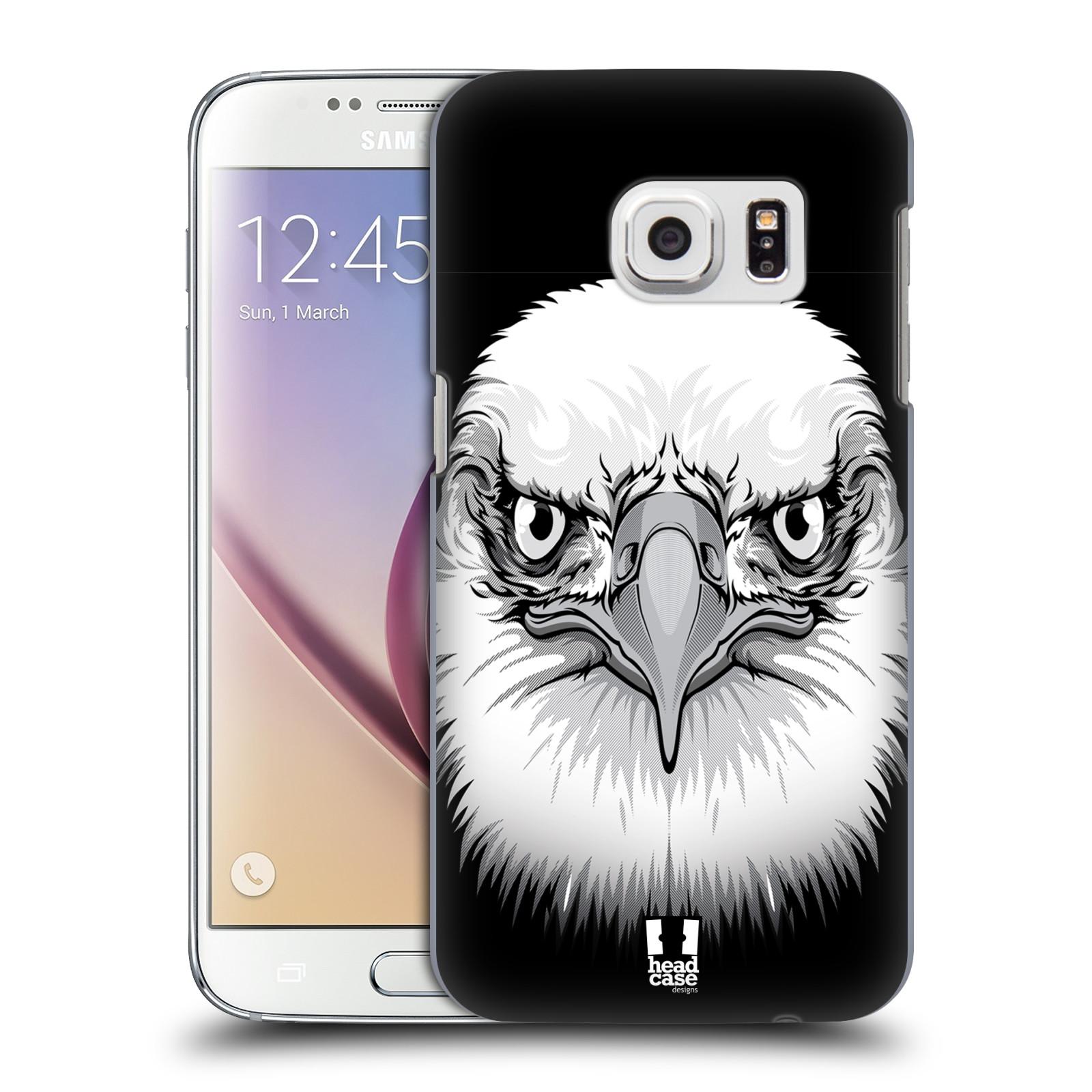 Plastové pouzdro na mobil Samsung Galaxy S7 HEAD CASE ILUSTROVANÝ OREL (Kryt či obal na mobilní telefon Samsung Galaxy S7 SM-G930F)